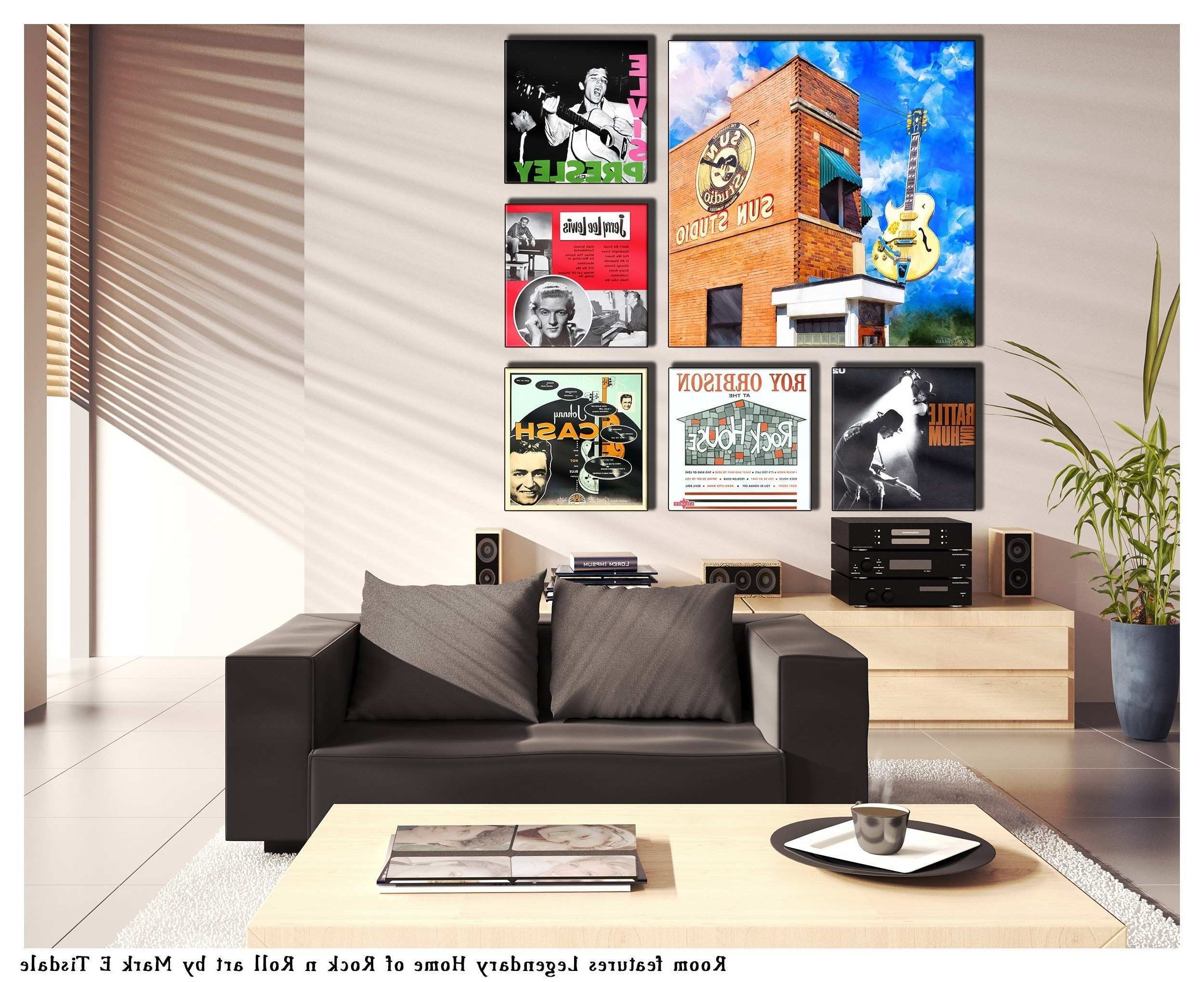 15 Inspirations of Album Cover Wall Art