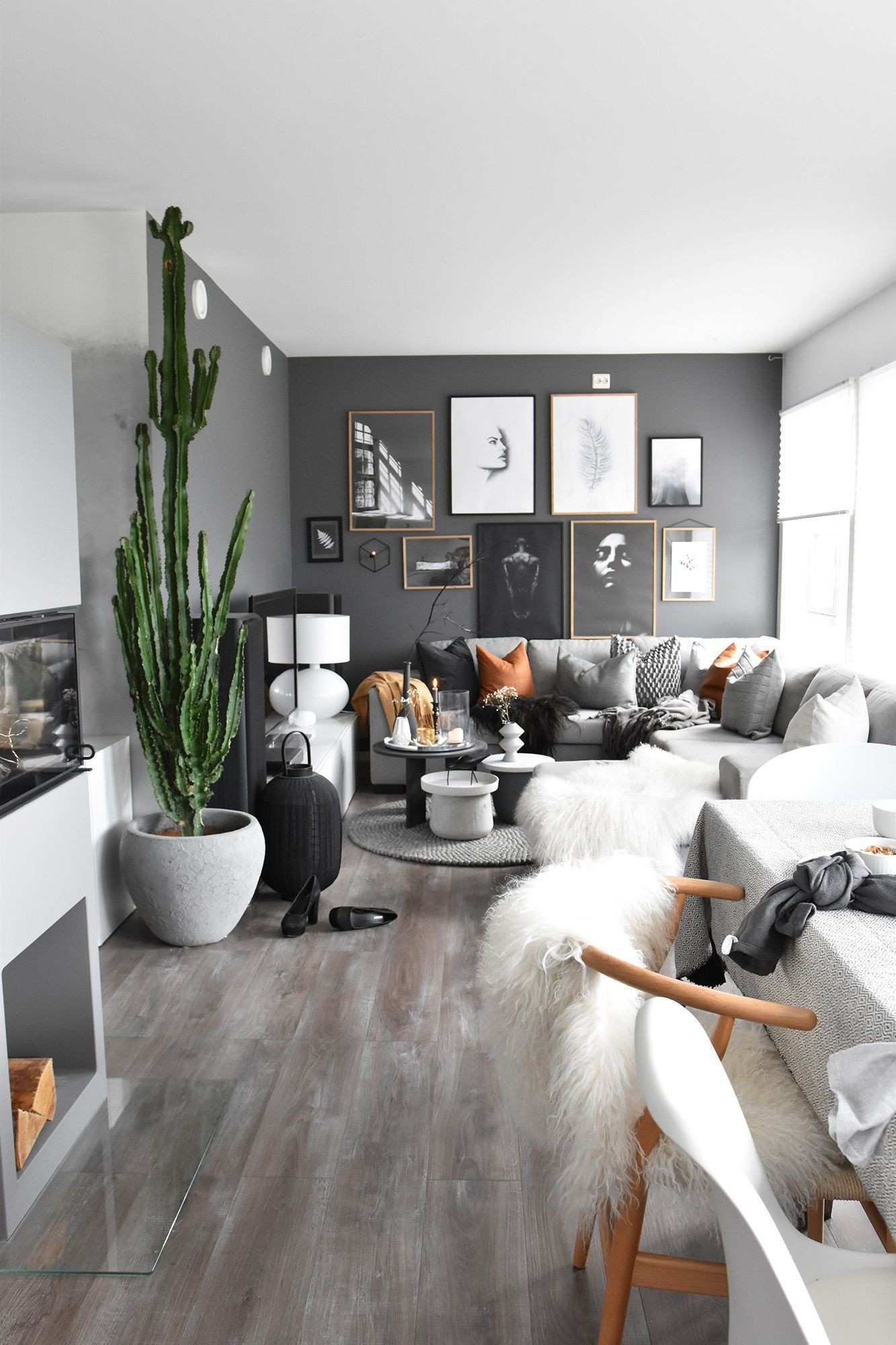 Fetching Wall Collage Ideas Living Room Full Size Decor 9