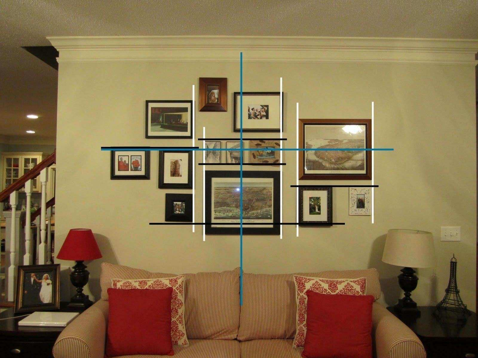 Elegant Wall Collage Picture Frames Ideas