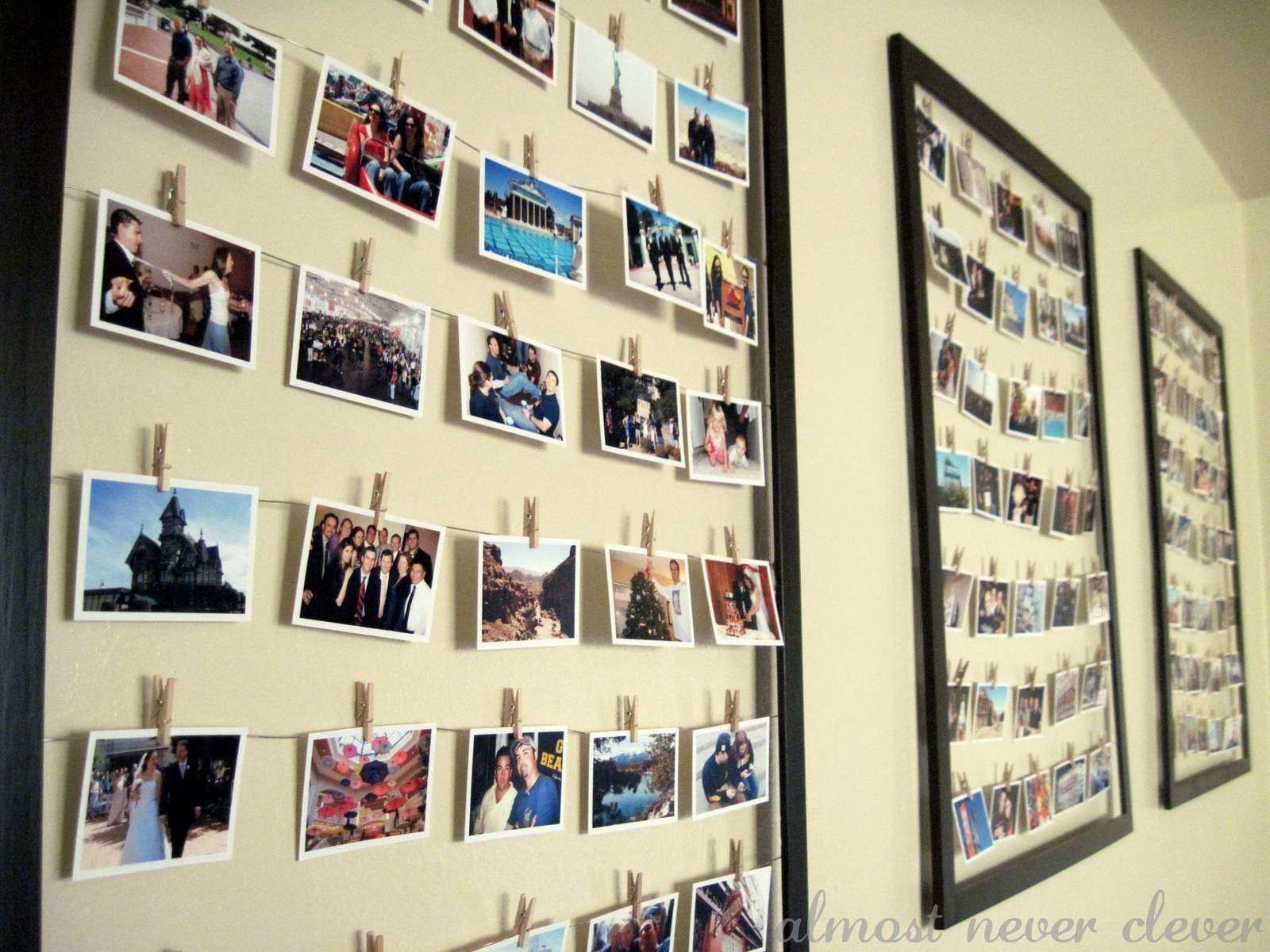 Picture Frame Arrangements On Wall Ideas Lovely Wall Frames ...