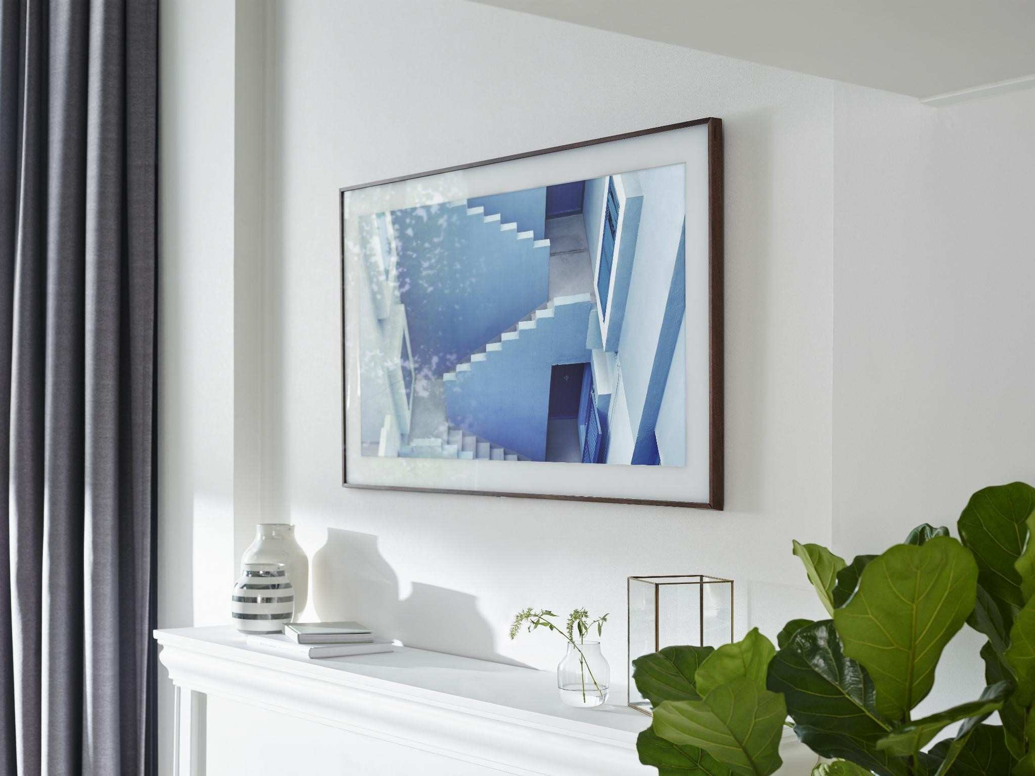 The Frame Samsung s new 4K TV transforms into wall art