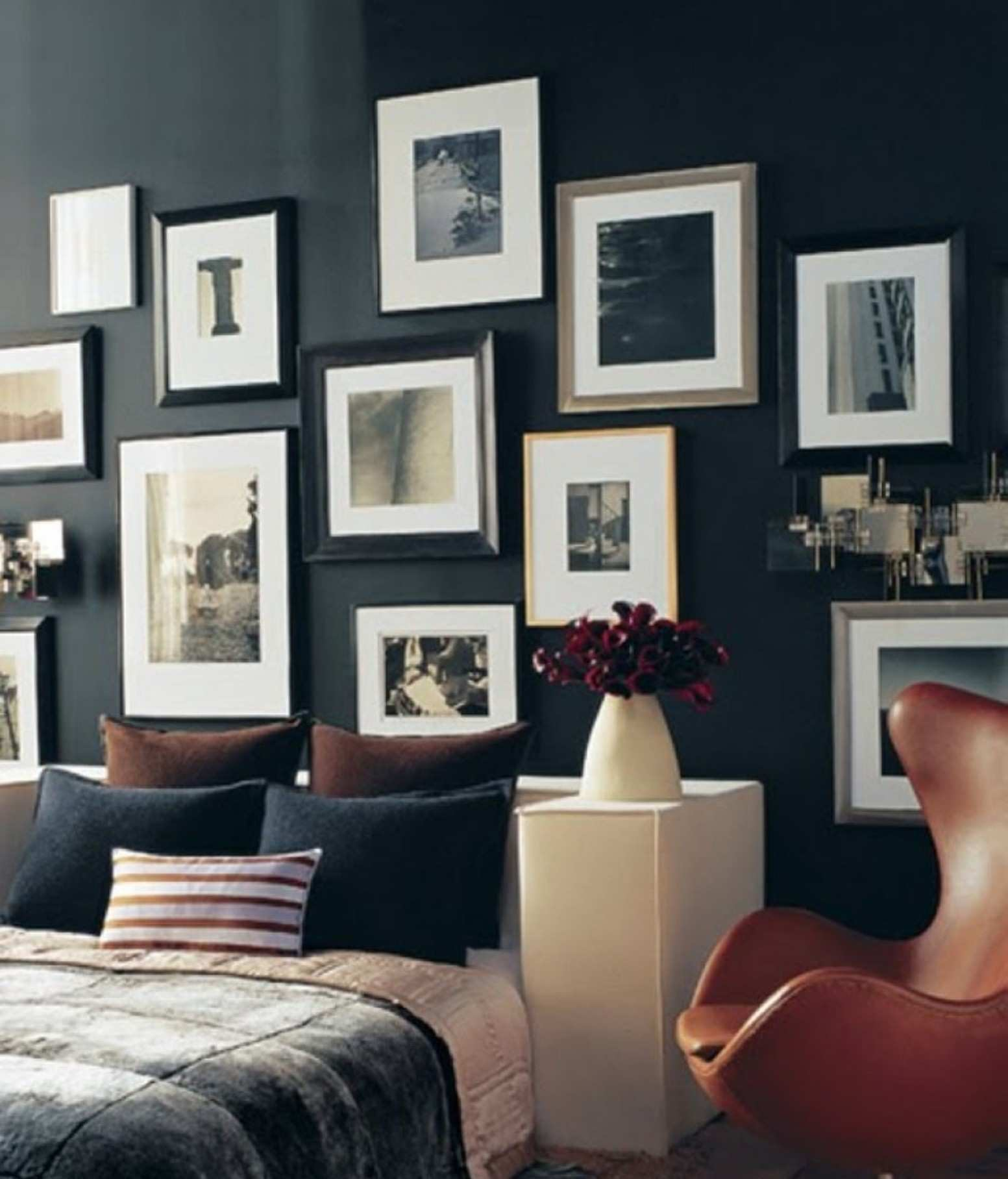 Picture Frame Designs On Walls Elegant Bedroom Ideas Picture Frames Visi Build 2017 with Black and White