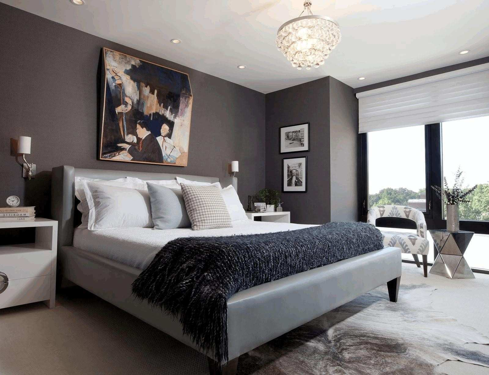 Picture Frame Designs On Walls Fresh Bedroom Ideas Using Grey Rectangular Mirror with Chrome Frame White
