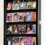 picture frame holders walls luxury 20 sport cards collectible card display case cabinet holder wall of picture frame holders walls