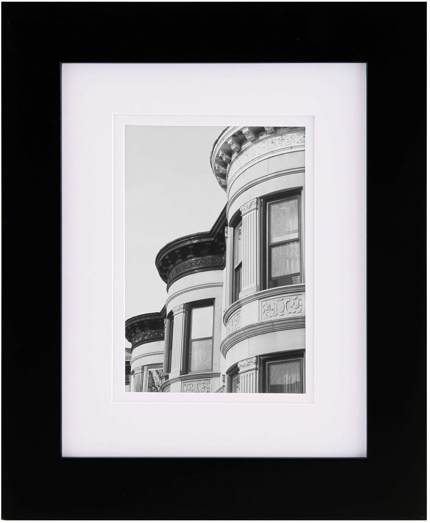 Gallery Solutions 8X10 Black Frame Matted To 5X7