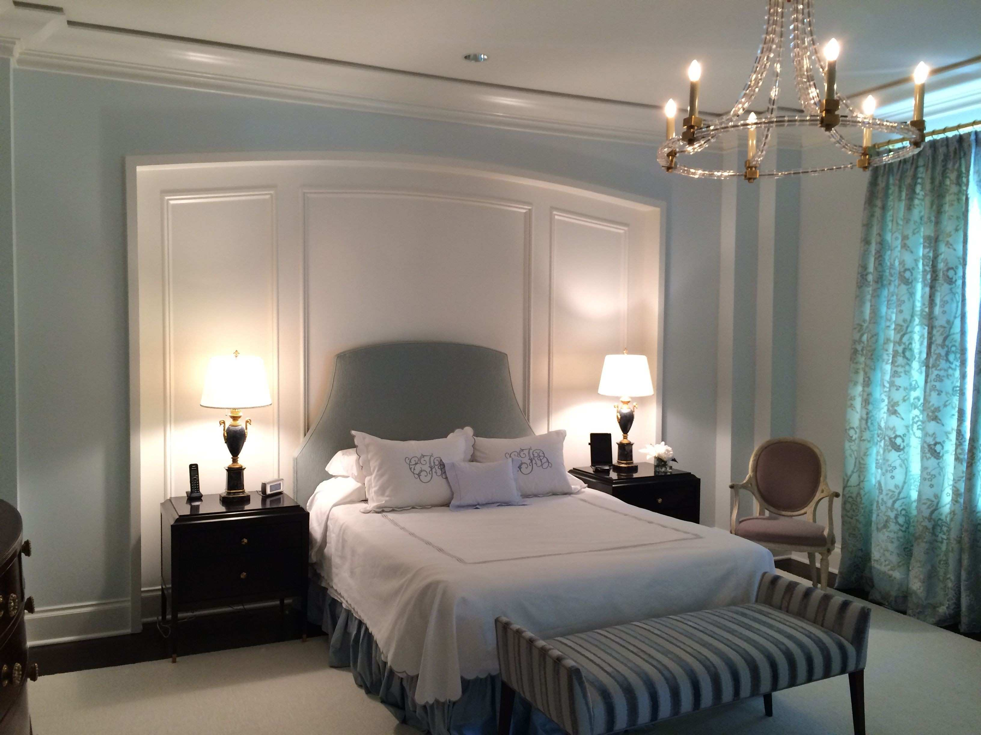 Picture Frame Molding On Walls Inspirational Created Bed Niche with ...