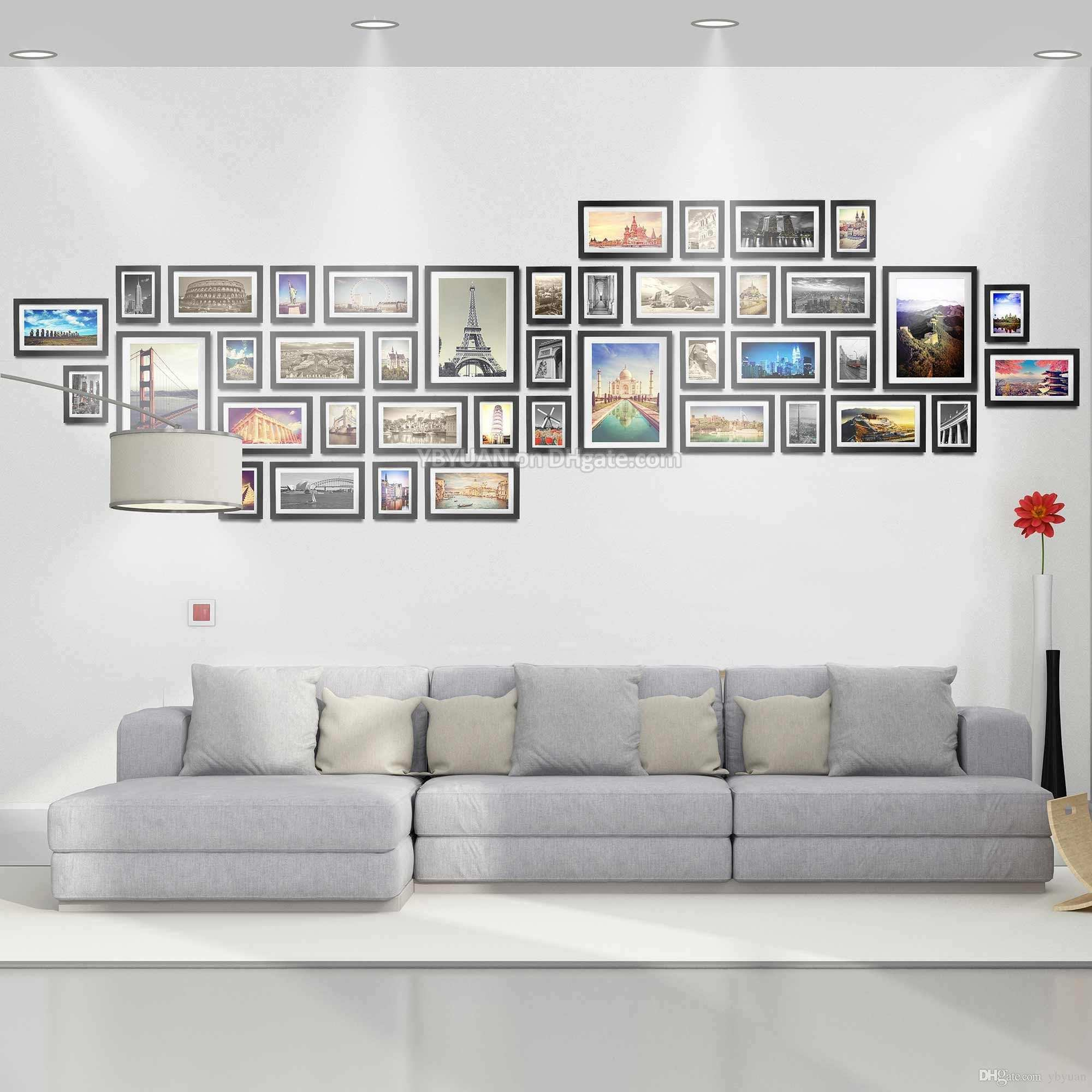 Extra Wood Frames Gallery Wall Modern Style Flat