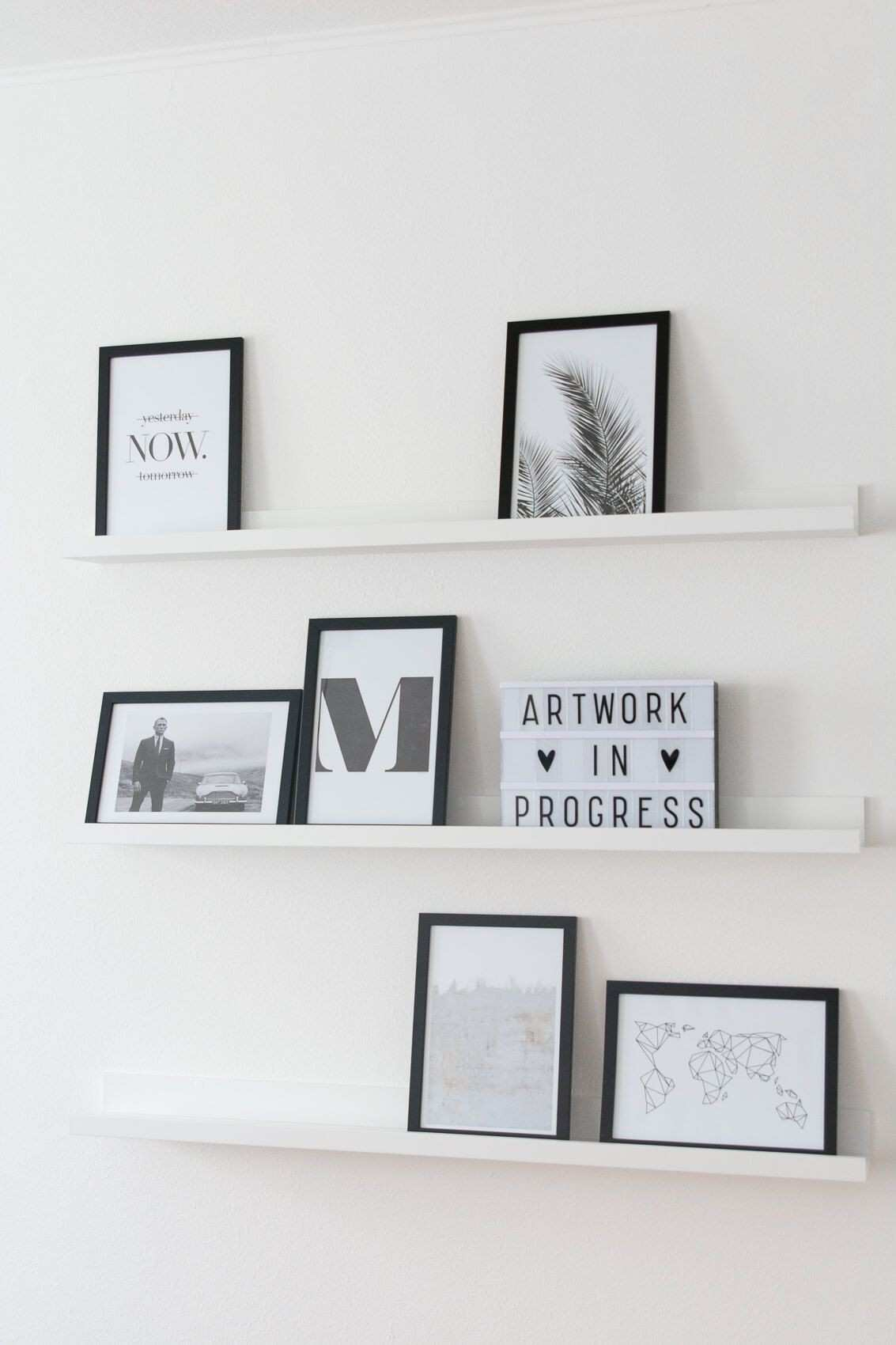 Picture Frame Wall Shelf Lovely Gallery Wall by Juniqe