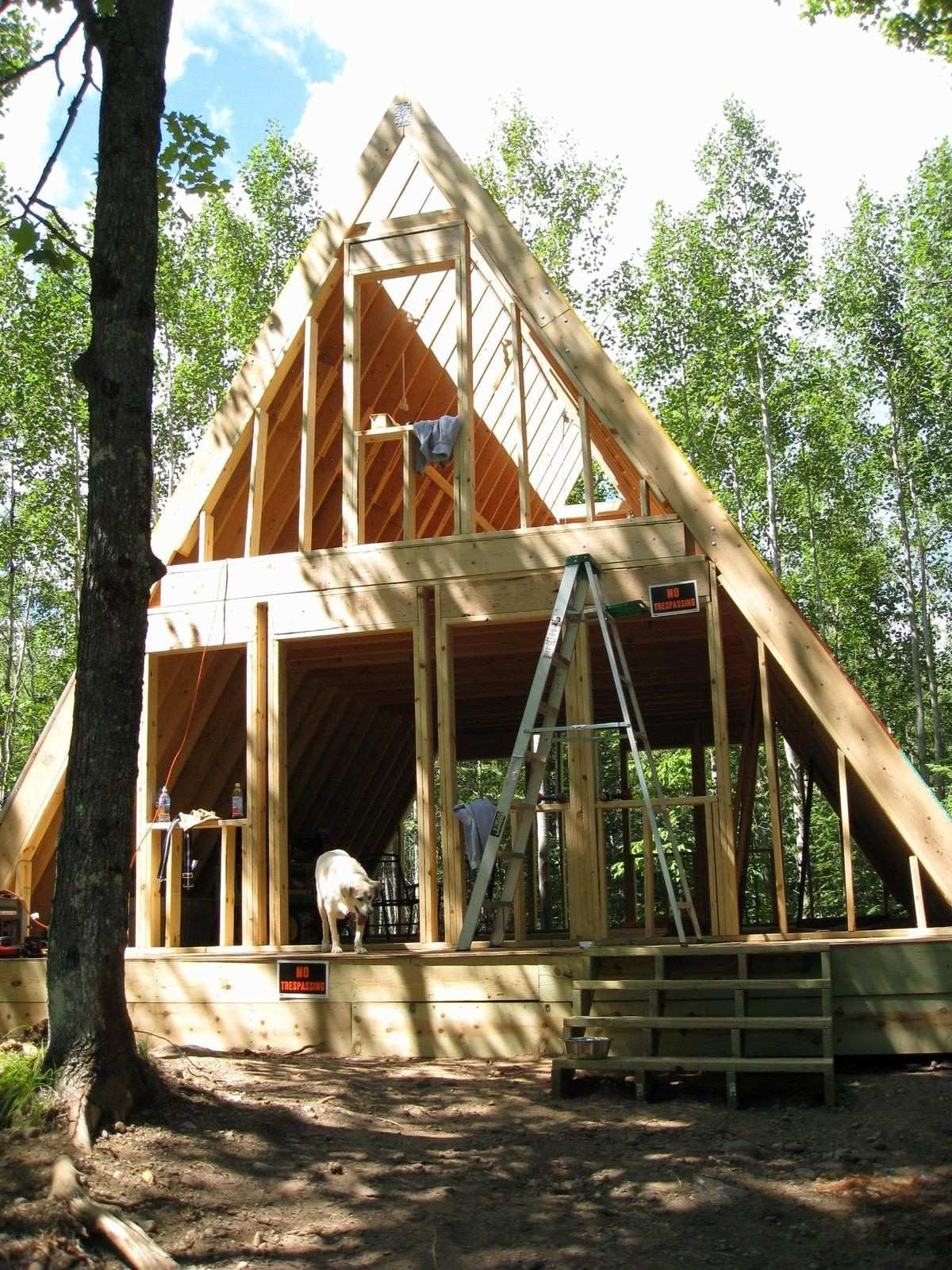 Inspirational Tinygreencabins A Frame Home Plans Tinygreencabins 0d