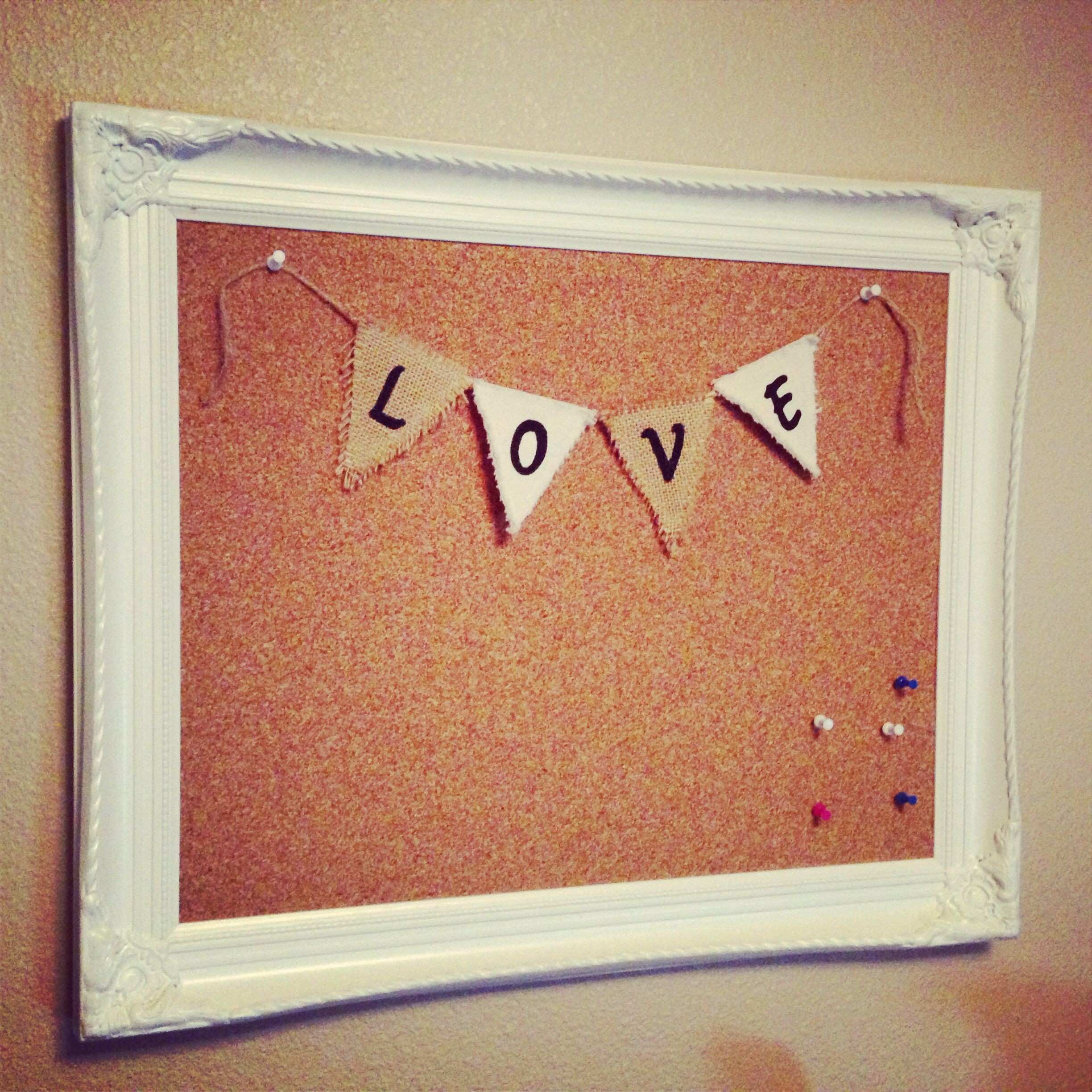 Picture Frames and Mats Inspirational Diy Cork Board Empty Frame ...