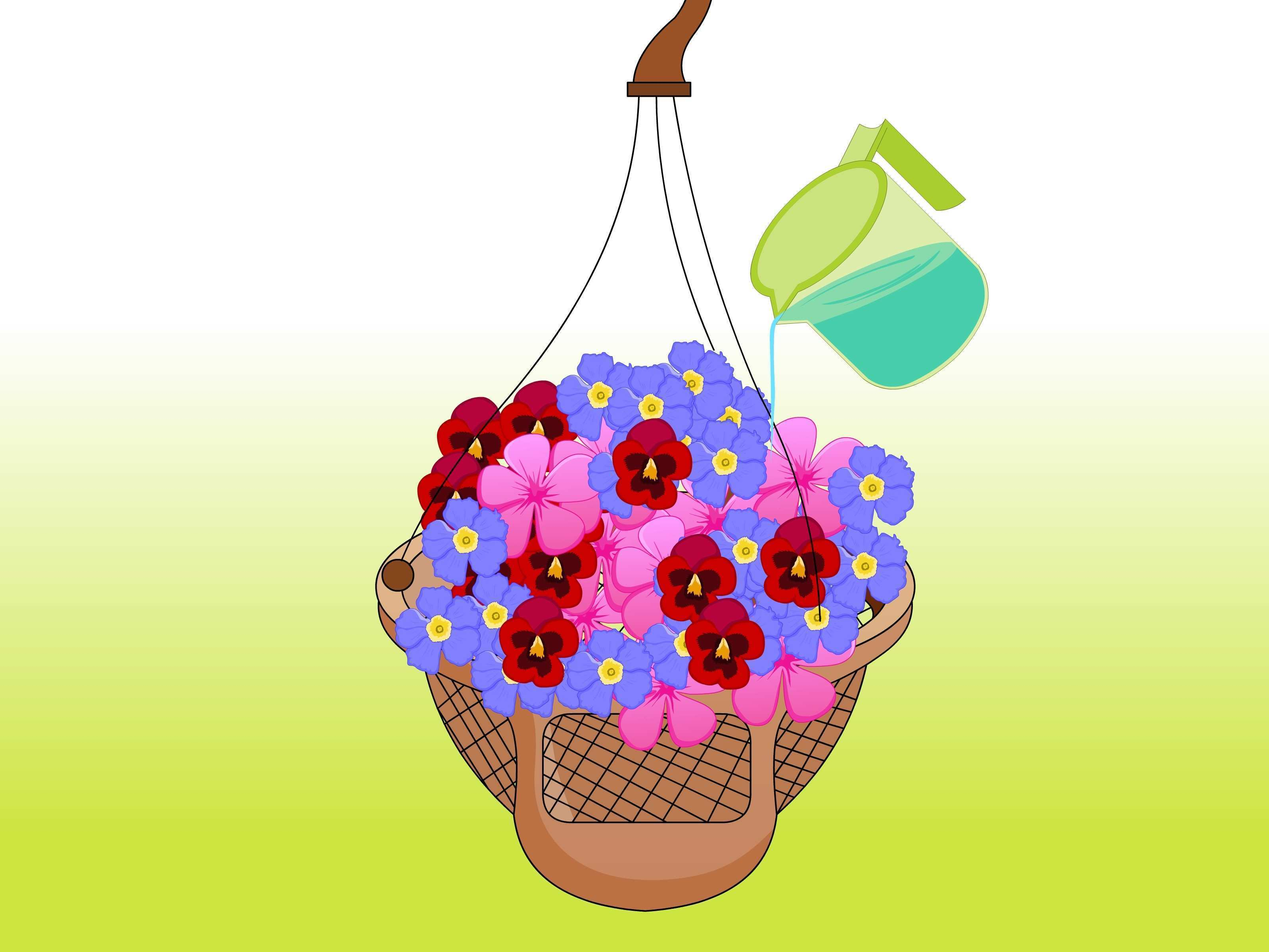How to Prepare a Hanging Basket 7 Steps with wikiHow