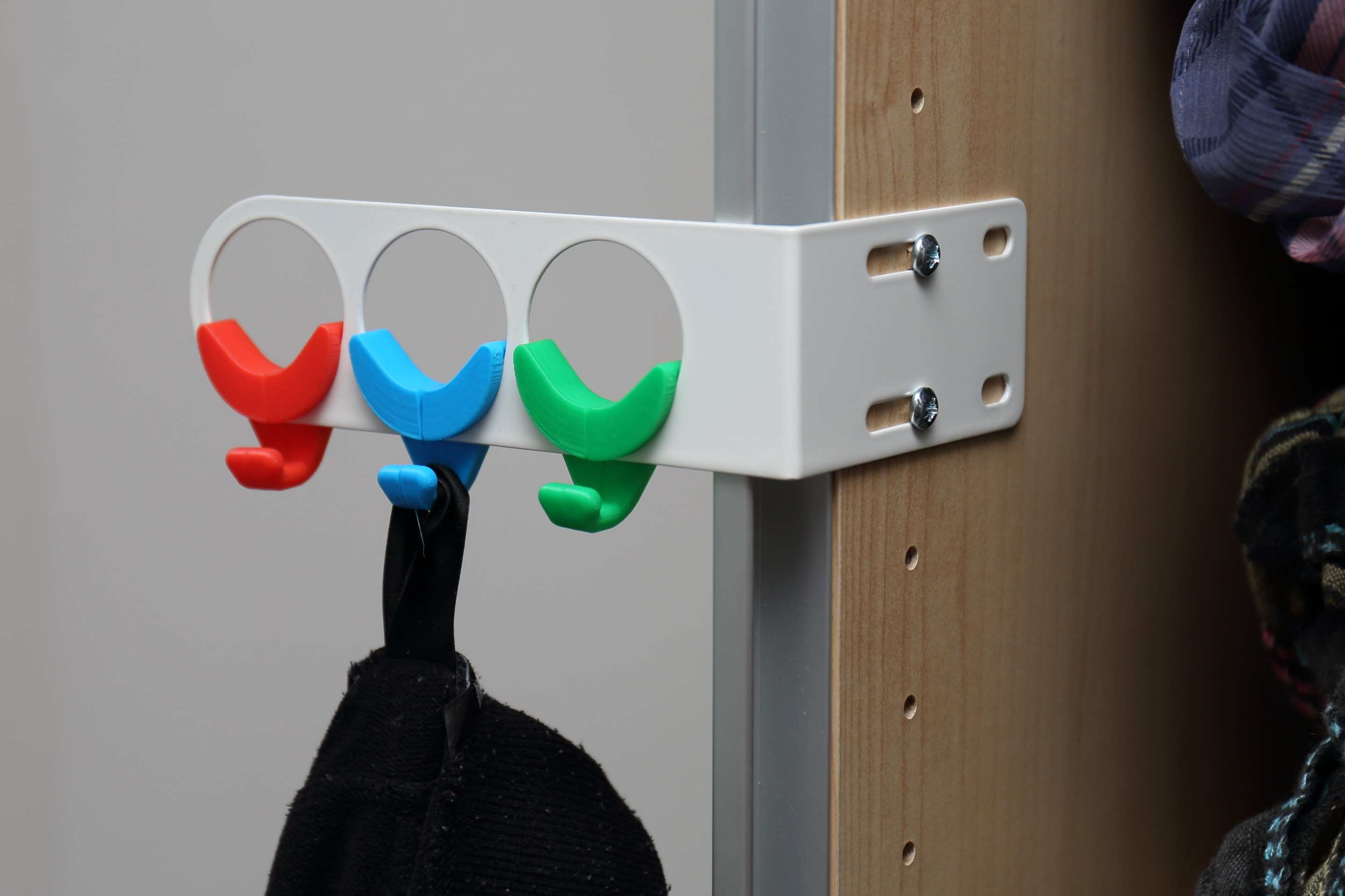 Hooks for IKEA Komplement Valet Hanger by iscand Thingiverse