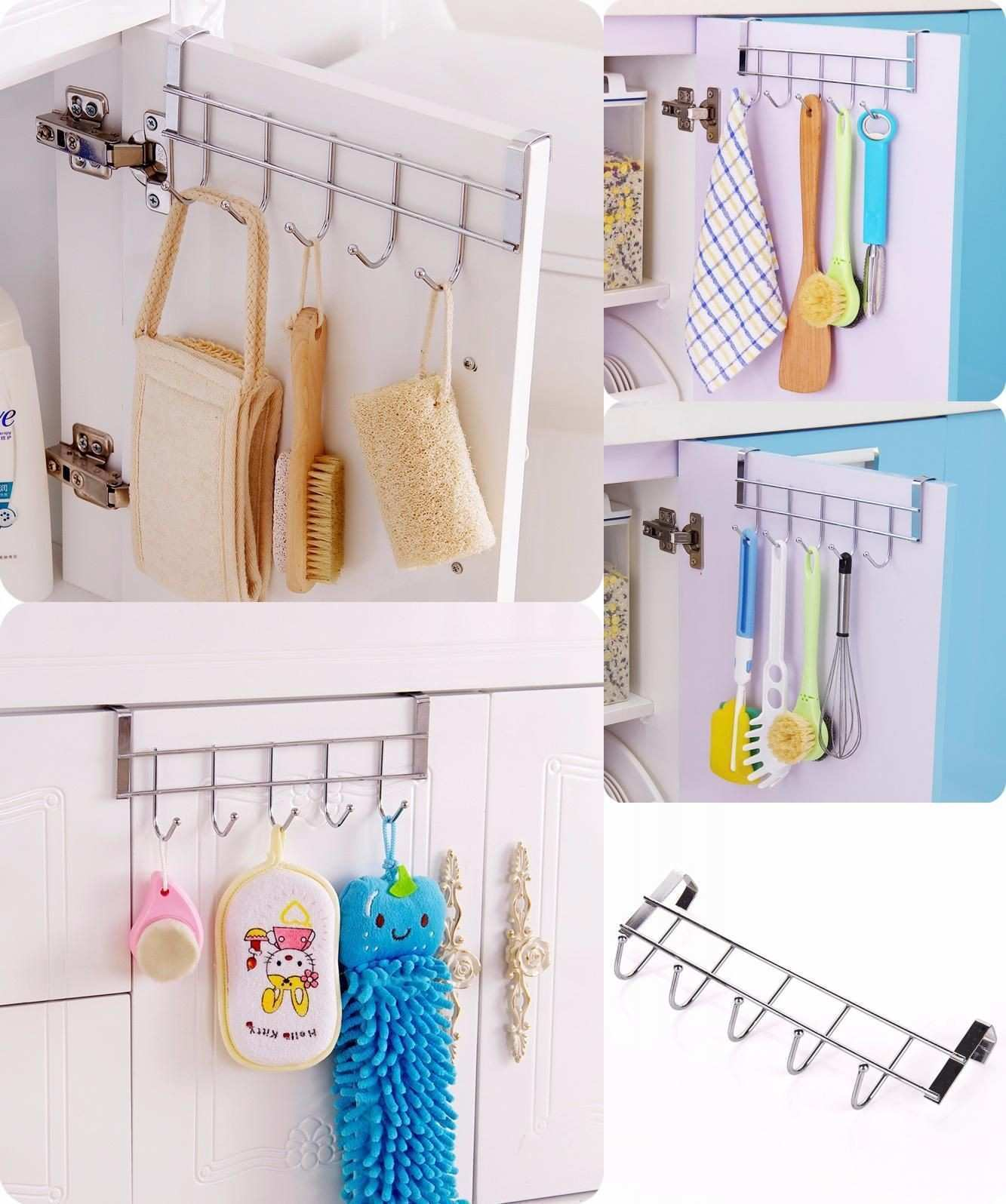 Picture Hanging Hooks Best Of Visit to Buy] Stainless Steel Bathroom Kitchen organizer Hanger