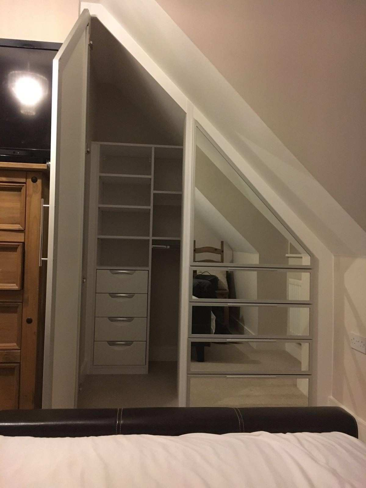 For this client we used the space really well creating a hidden