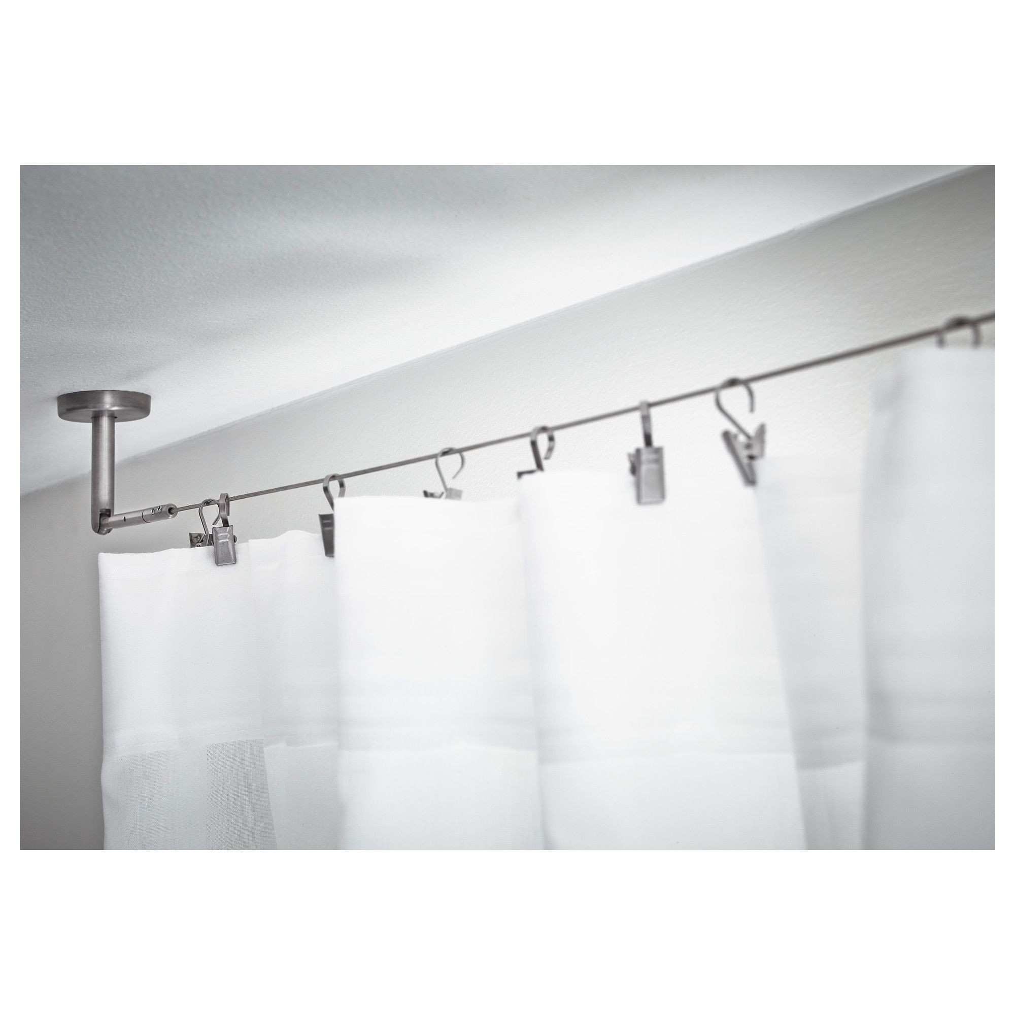 DIGNITET Curtain wire stainless steel Pinterest