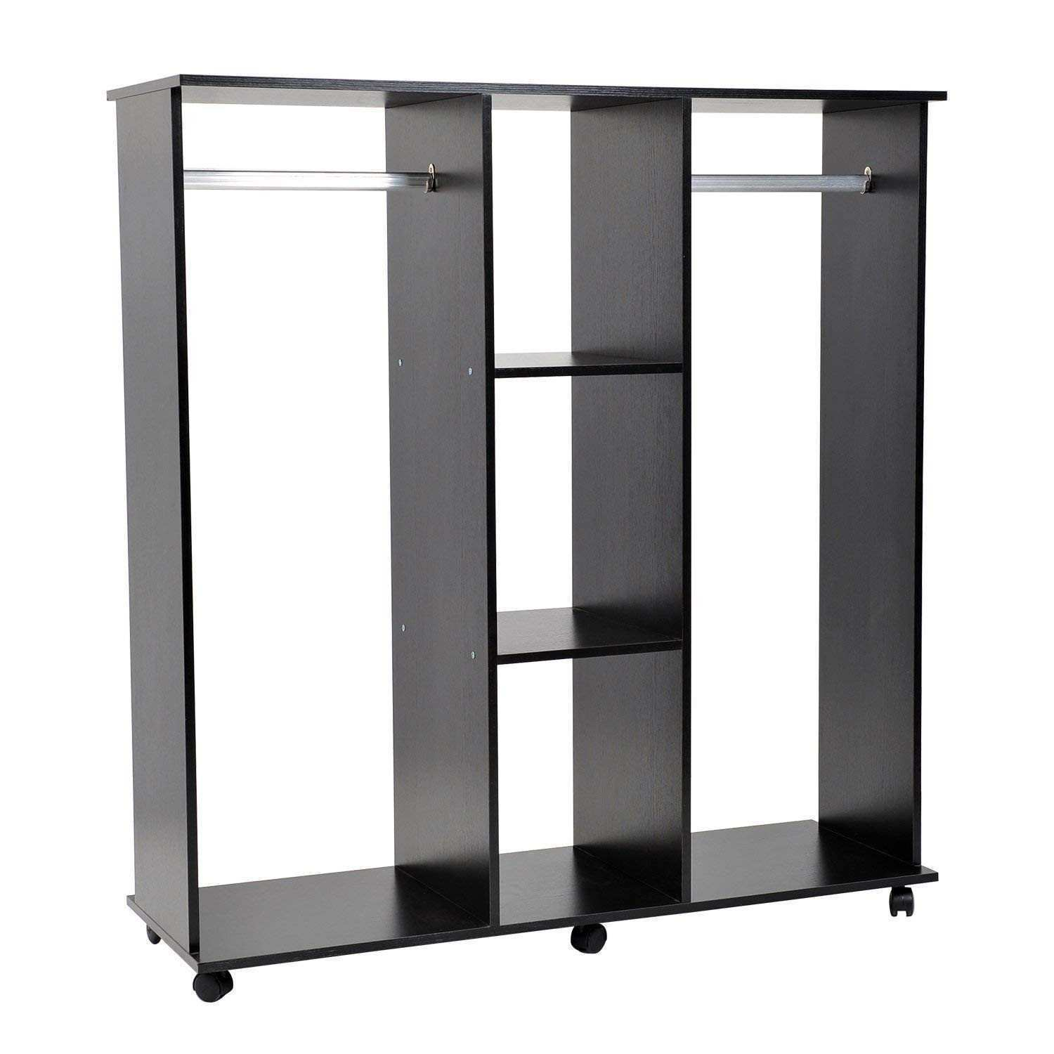Home Design Closet Shelf With Hanging Rod Lovely 86y Wardrobe