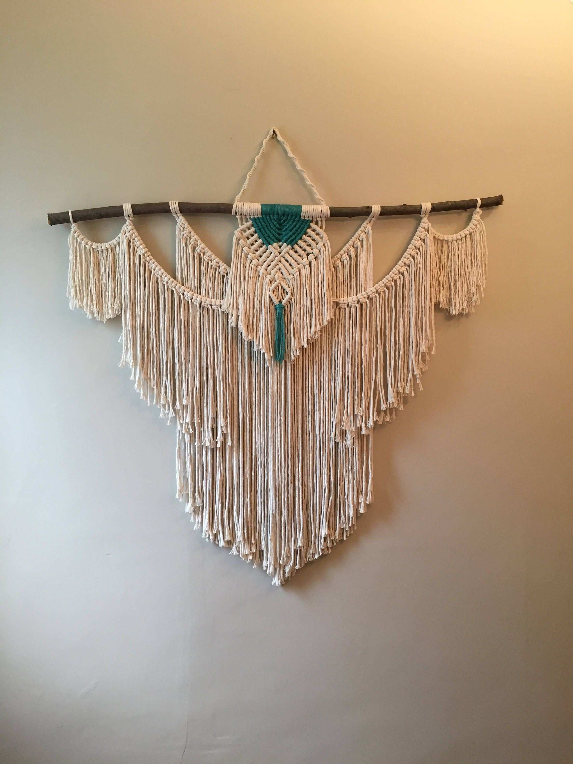 Hanging Wall Tapestries New Macrame Wall Hanging Macrame Decor