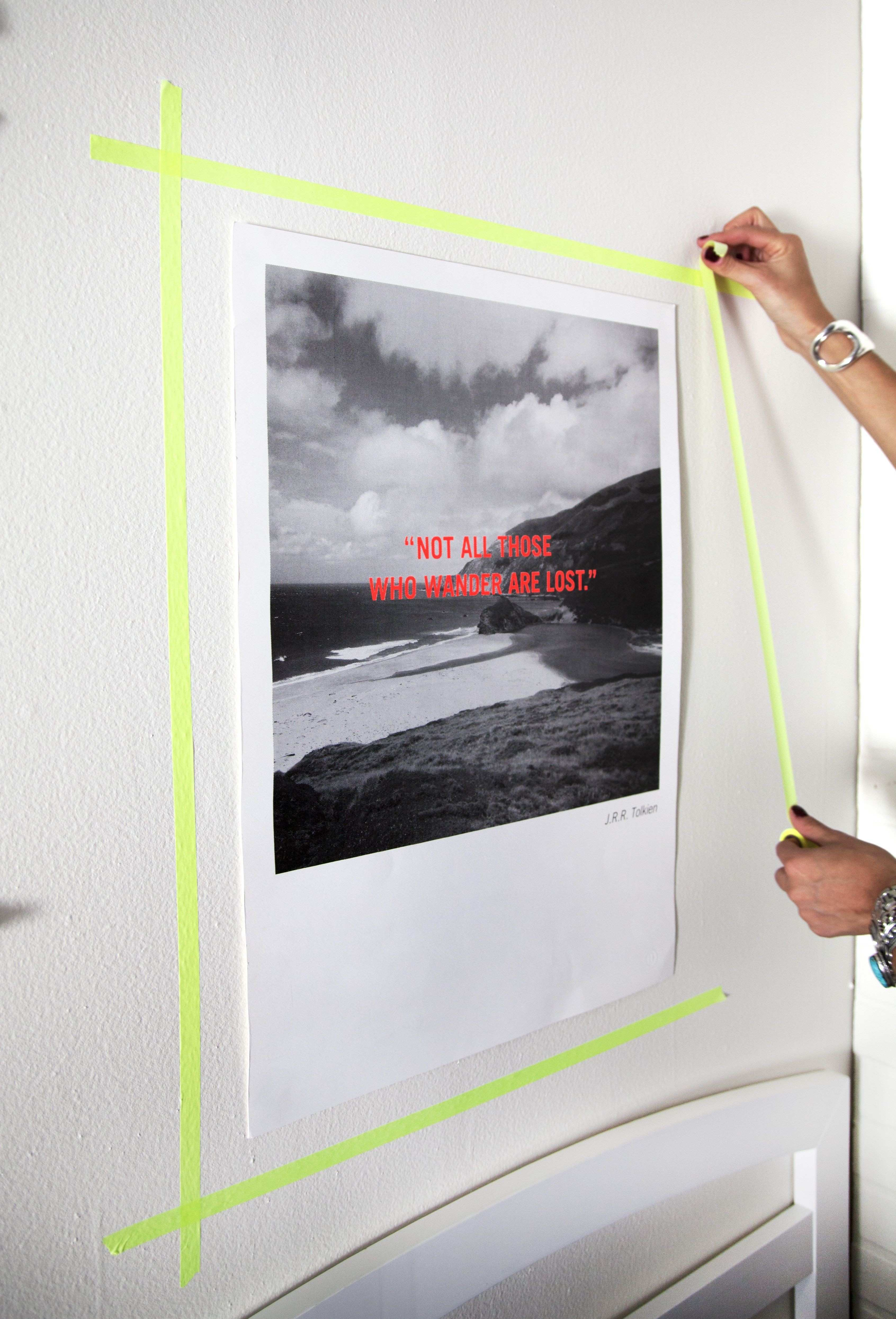 Dormify Tip Make your walls more interesting by framing your prints