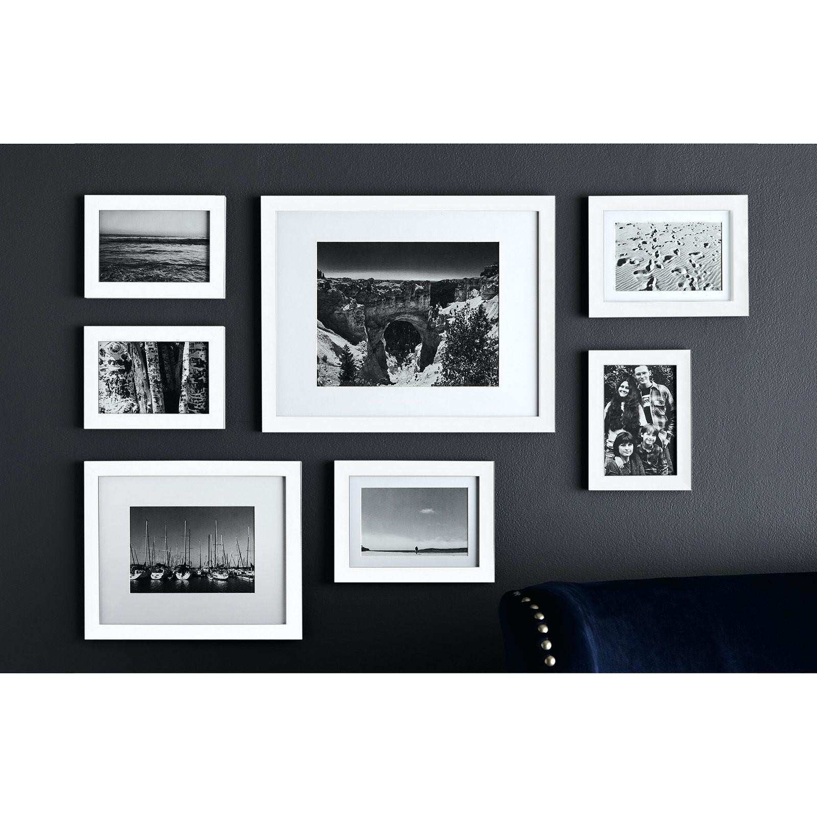 Picture Wall Gallery Frame Set Inspirational White Gallery Frames ...