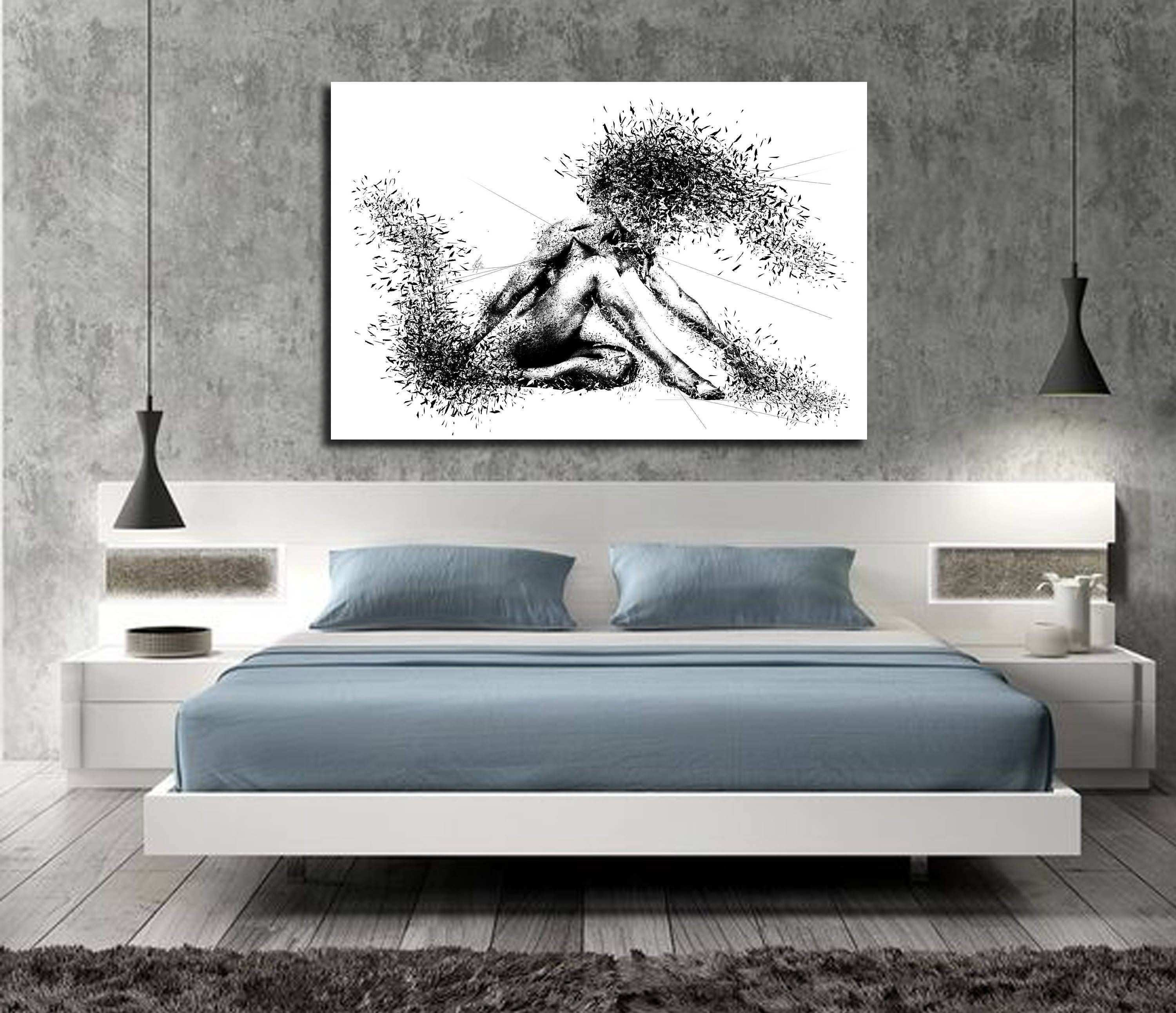 Pictures for Bedroom Wall Beautiful Canvas Art Sensual Bedroom Wall Decor Minimalist Abstract Art