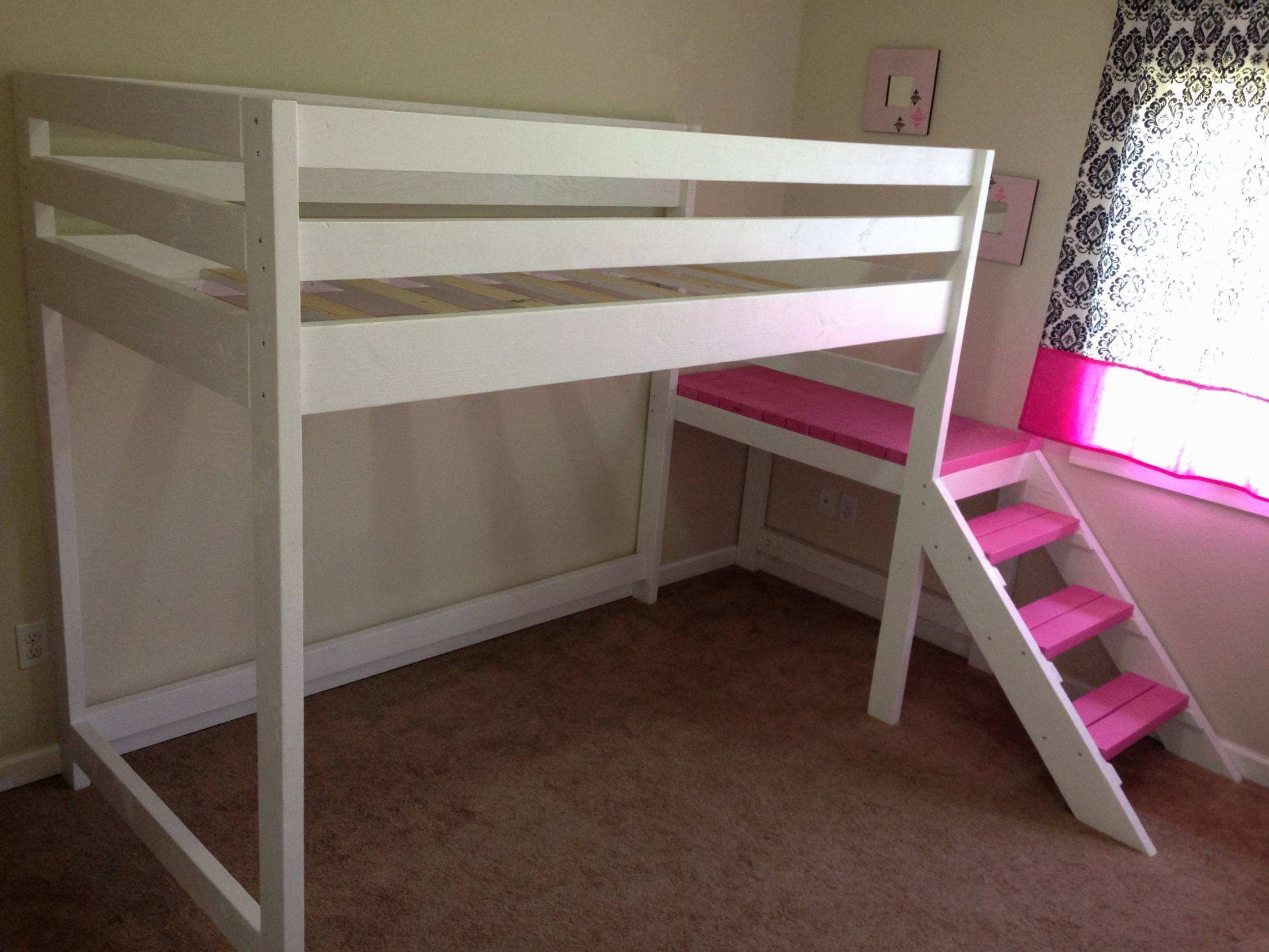 Girls Twin Loft Bed Elegant Bedroom Loft Frames Twin Frame Xl with