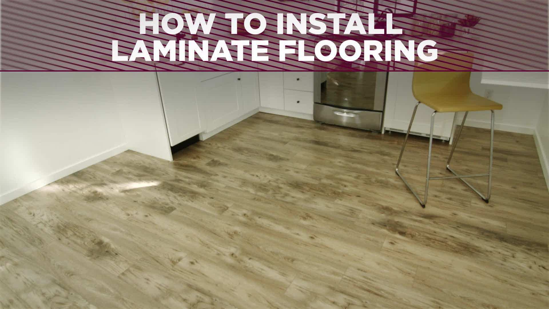 How to Install a Laminate Floor how tos