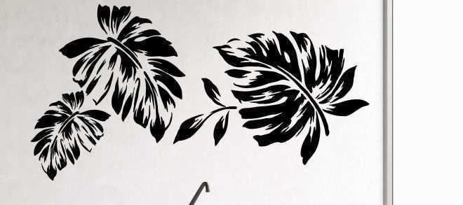 Wall Decoration Using Flowers