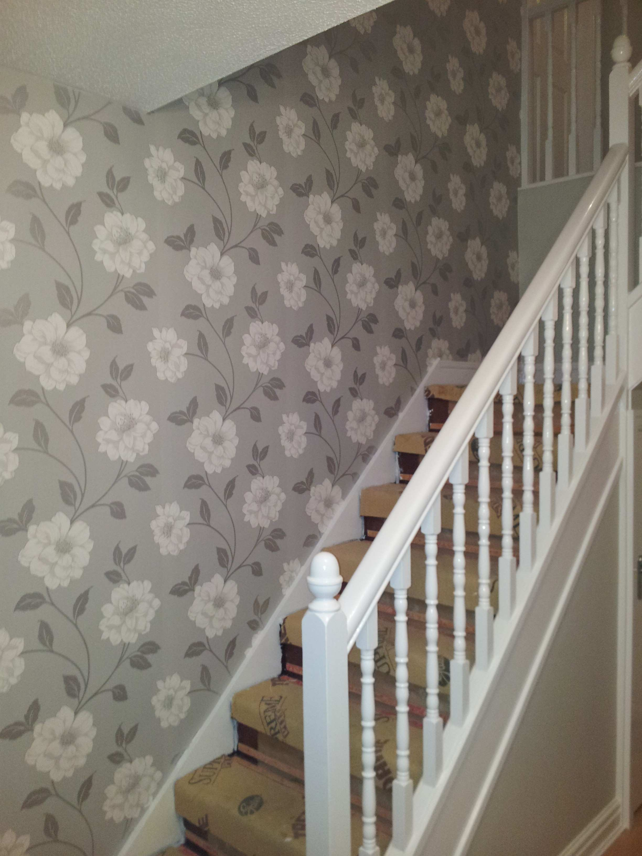 Pictures On Staircase Wall Lovely Appealing Wallpaper For Staircase Wall  Best Picture