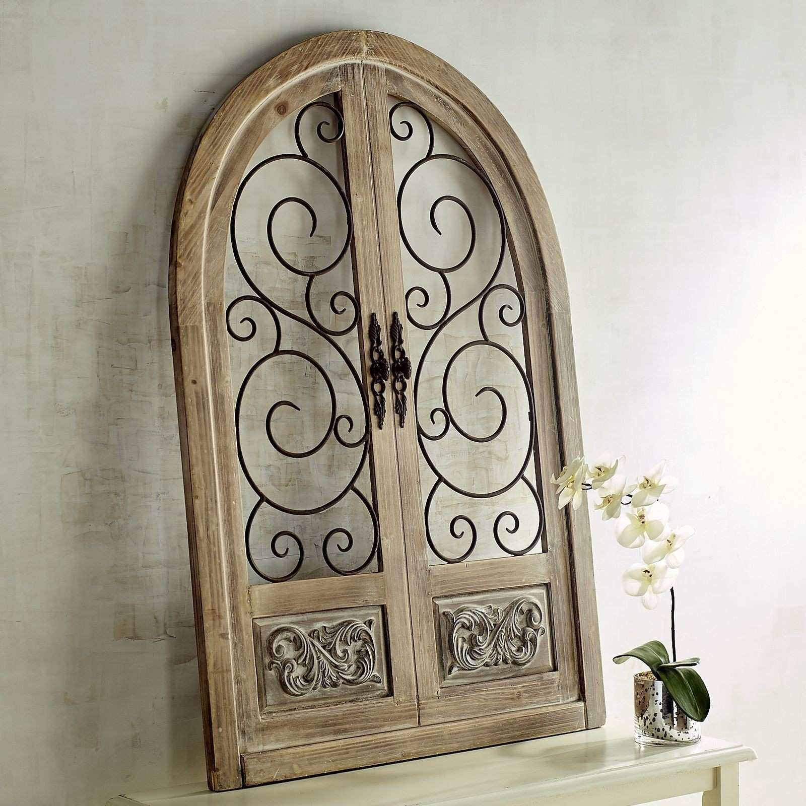 Pier 1 Imports Merville Arch Wall Decor Design Ideas Wood