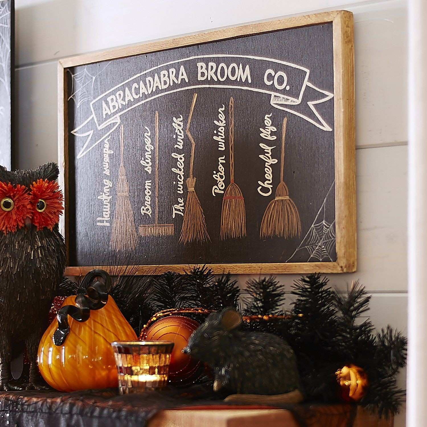 Witch Brooms Chalkboard Wall Decor Pier 1 Imports