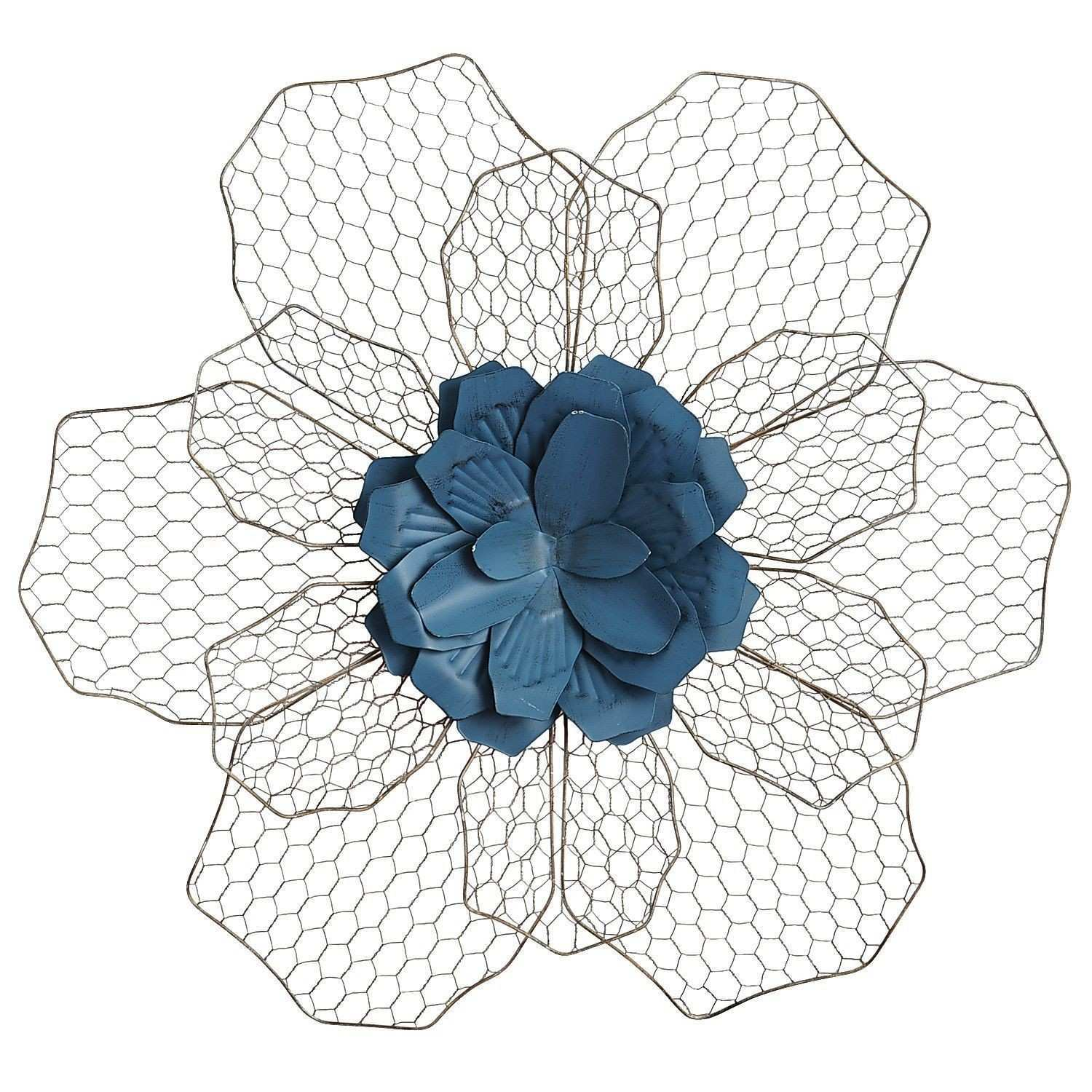 Teal Flower Wall Decor Pier 1 Imports Apartment
