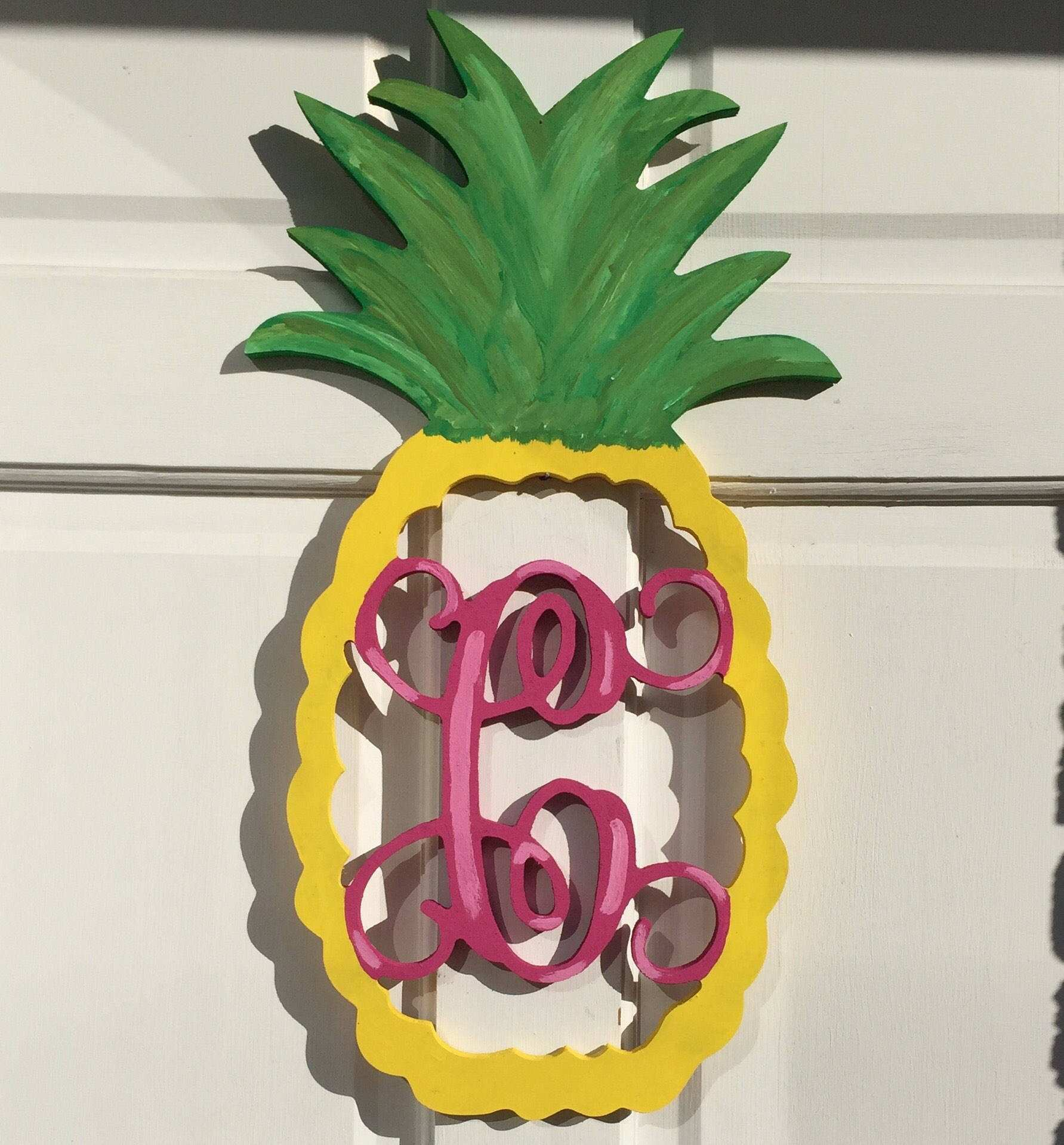 Home Decor Ideas wooden pineapple wall decor