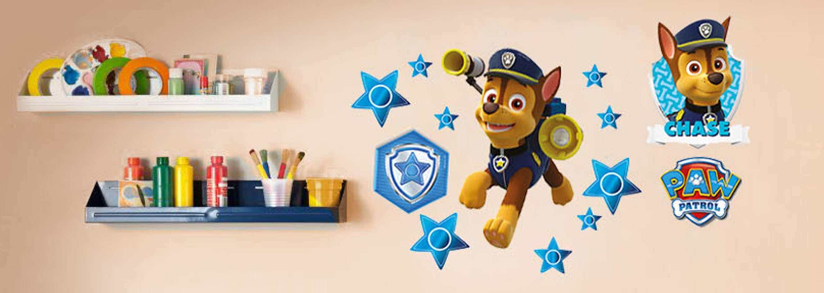 Pirate Wall Decals Awesome Paw Patrol Chase Wall Stickers And