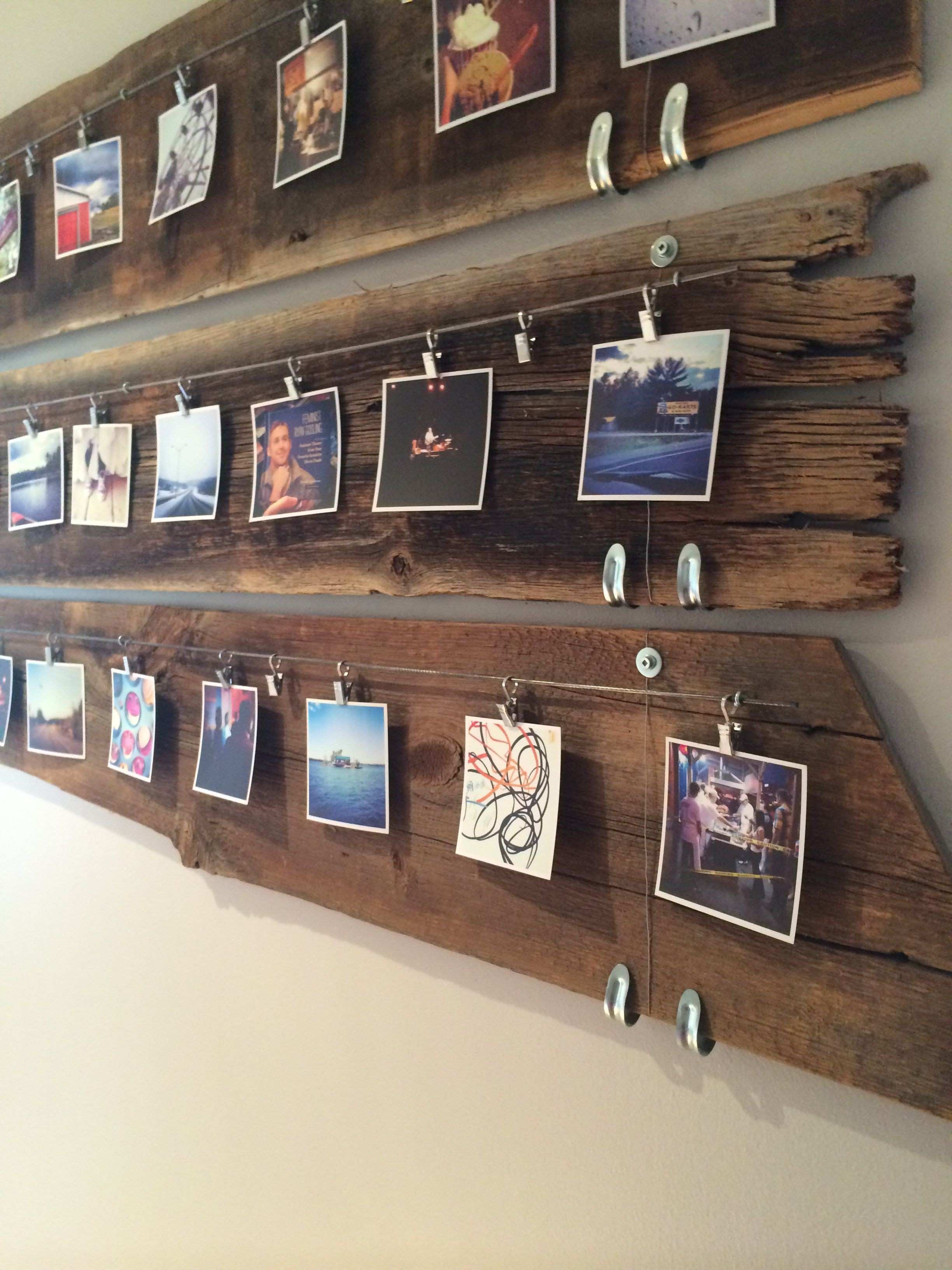 hipster way of displaying your family photo is done easily with