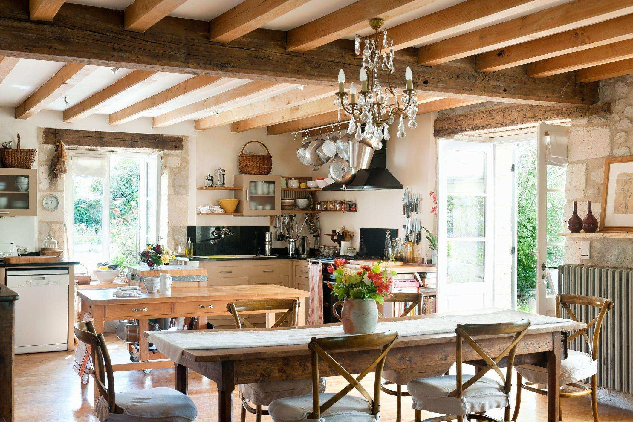 29 Inspirational White Country Kitchens Stock