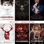 Posters And Prints Beautiful Hannibal Posters Movie Wall Stickers White Coated Paper Prints High Of Posters And Prints