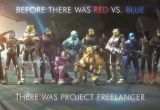 Posters Online Awesome Image Project Freelancer Poster Red Vs Blue Wiki