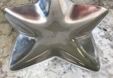 Pottery Barn Metal Wall Art Beautiful Vintage Rustic Boho Sterling Silver Star Dishxmas Decor Boho Decor