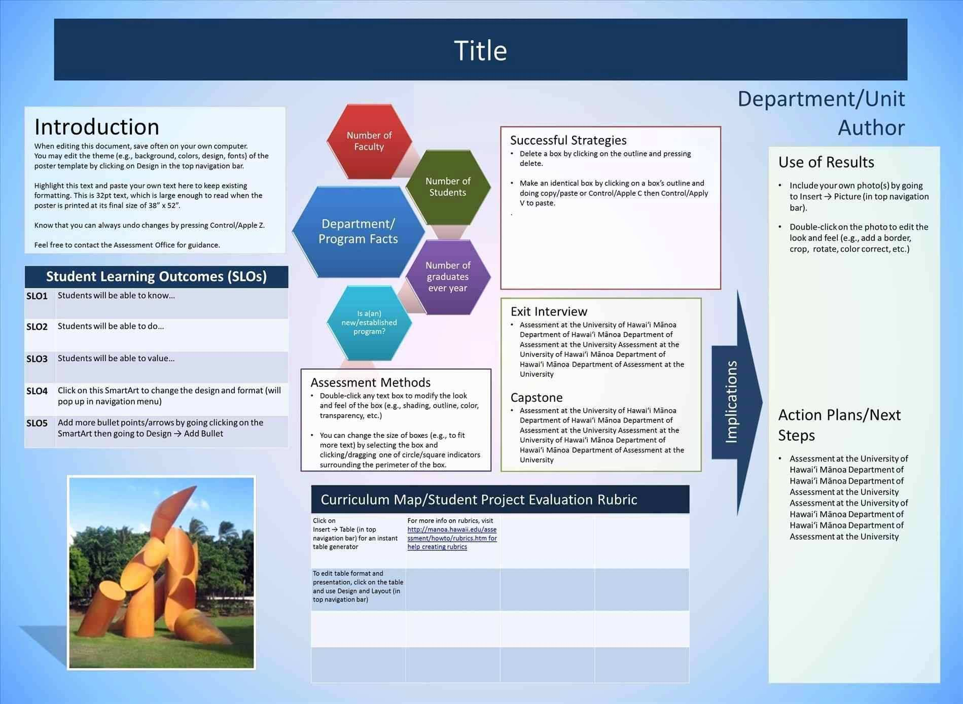 Powerpoint Poster Templates A0 New Poster Design Templates Free