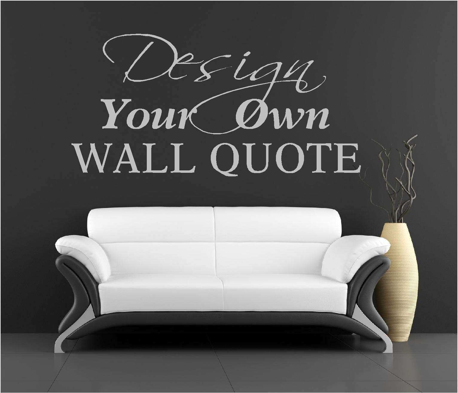 Design your own wall art stickers Decorating Ideas