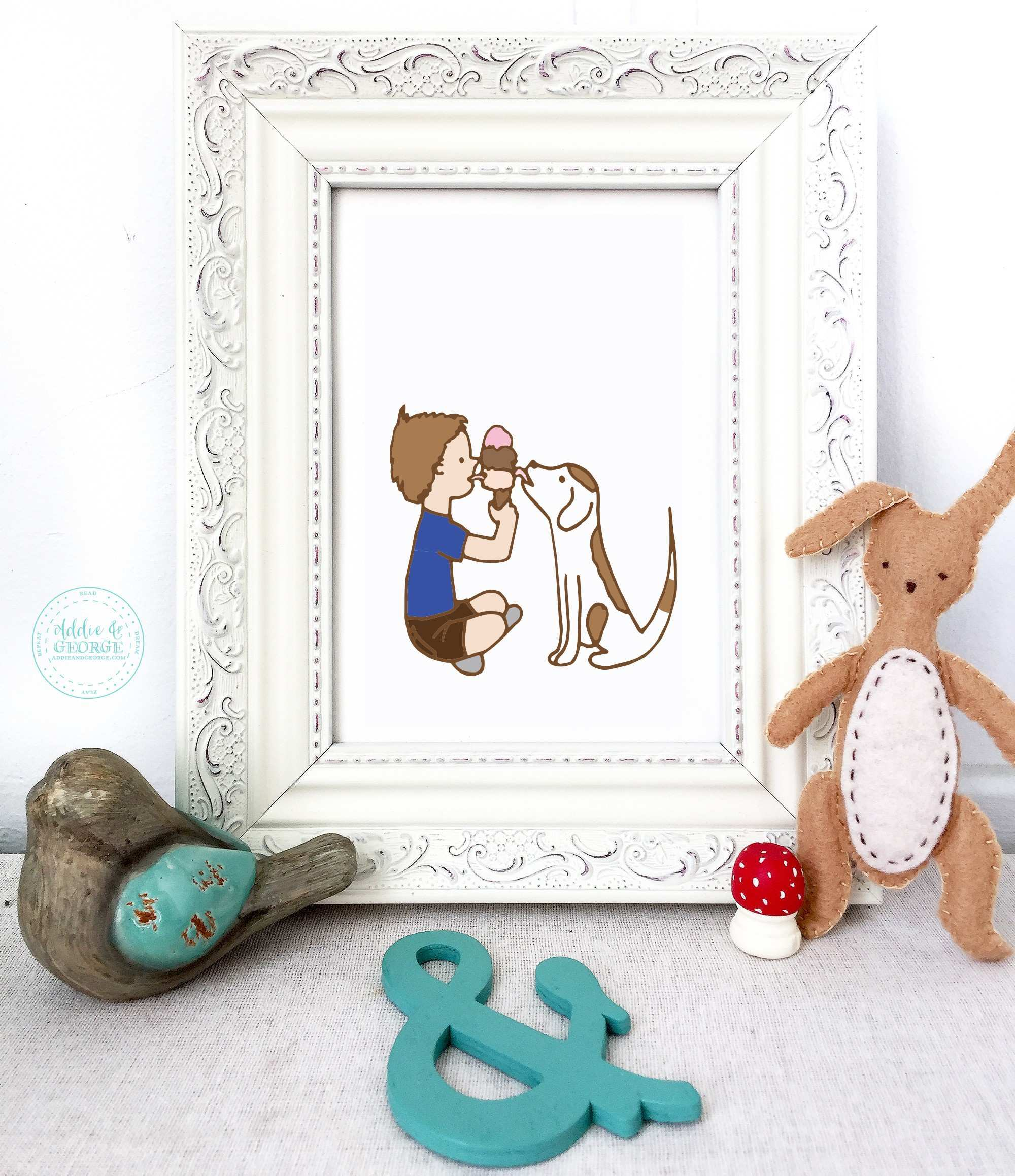 Childrens Wall Art to Inspire the Imagination Prints for the
