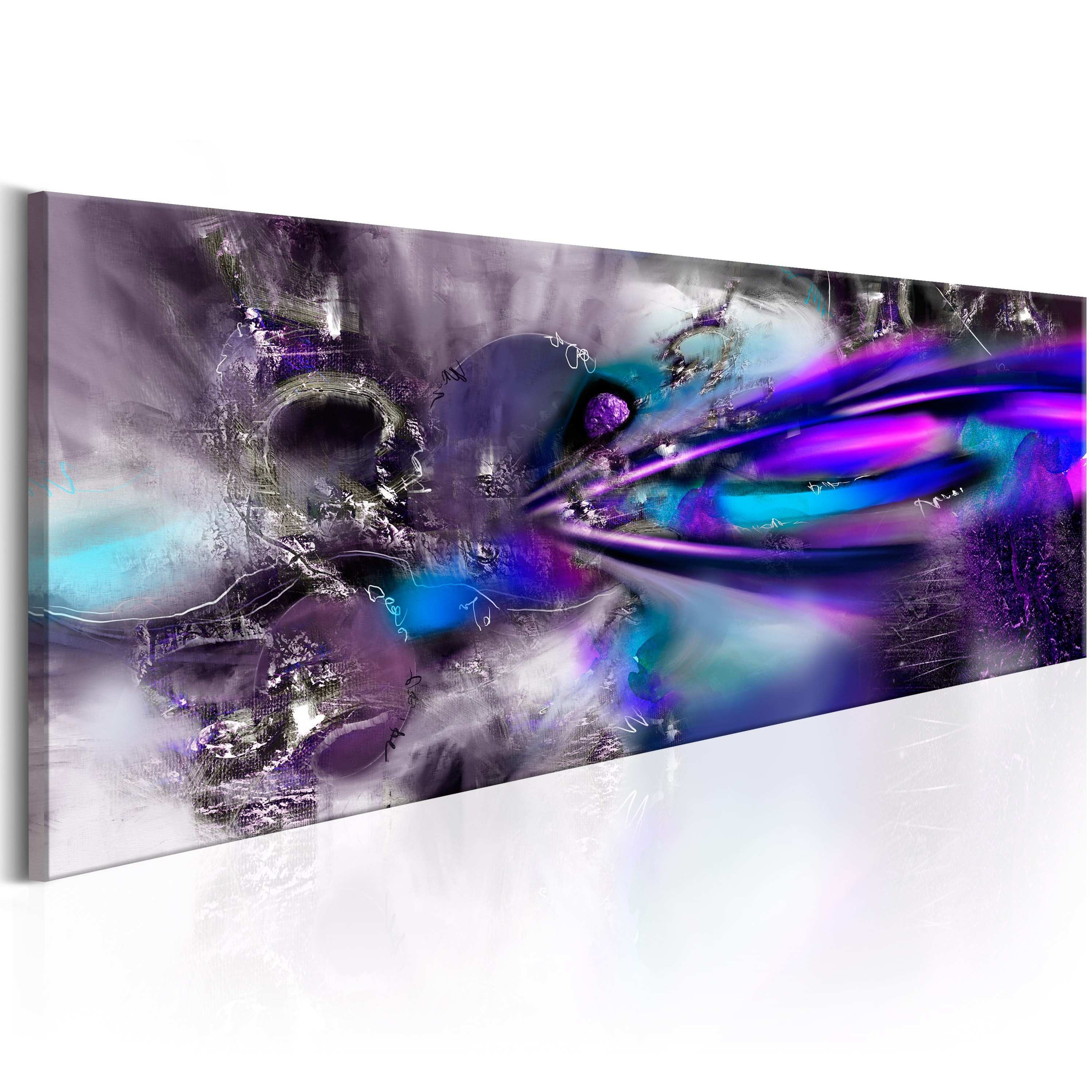 Canvas Painting Purple et Modern Abstract Canvas Prints