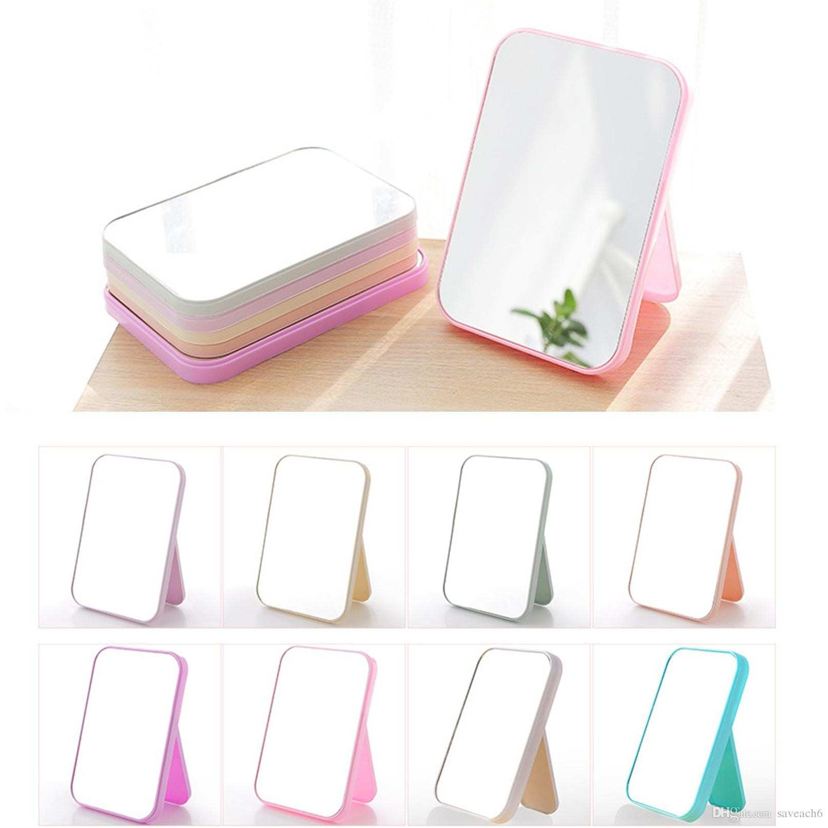 Makeup pact Mirror Desktop Cosmetic Rectangle Mirrors For Women