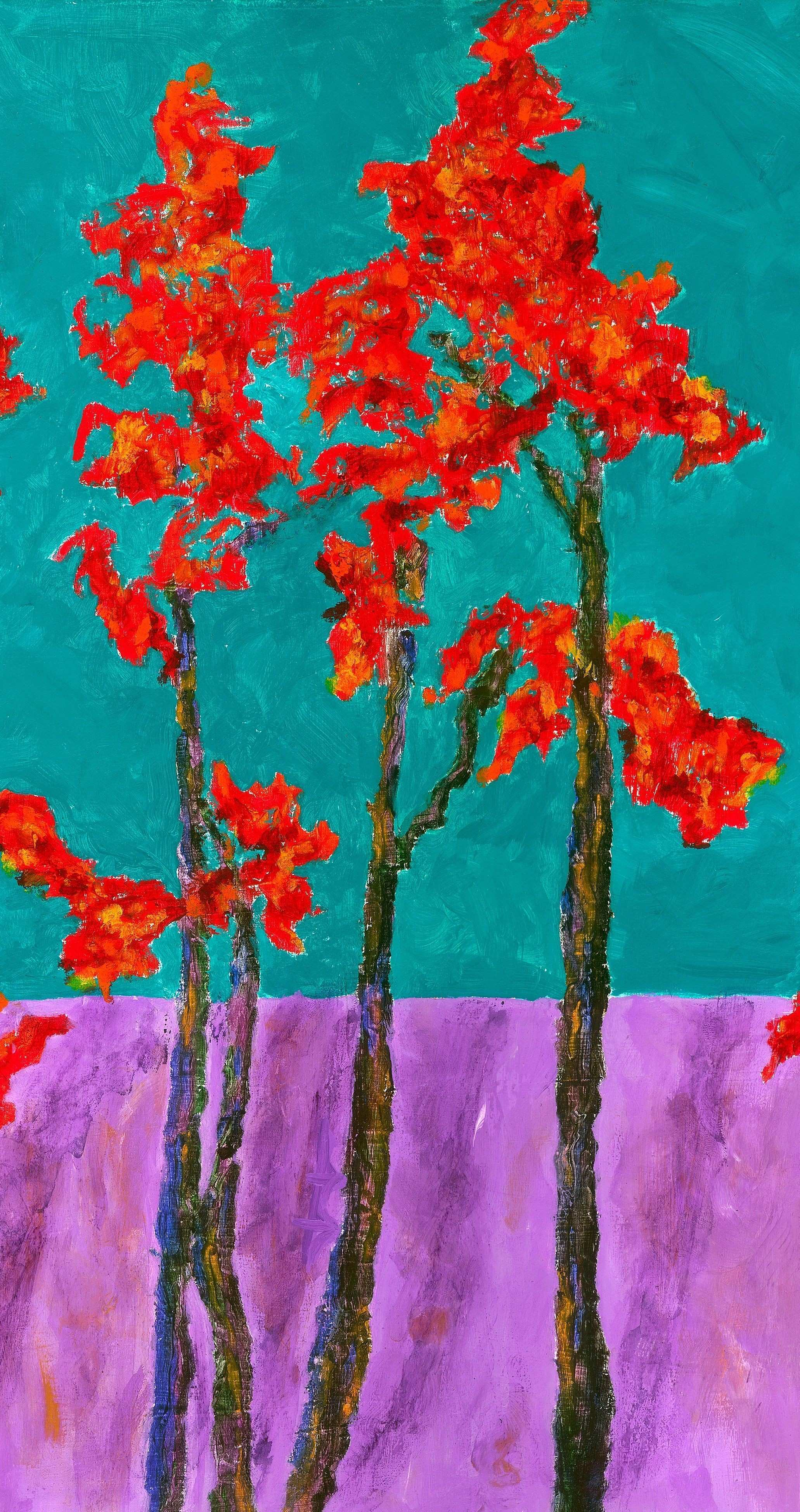 GICLEE ART PRINT on Canvas or Paper Autumn Aflame Landscape