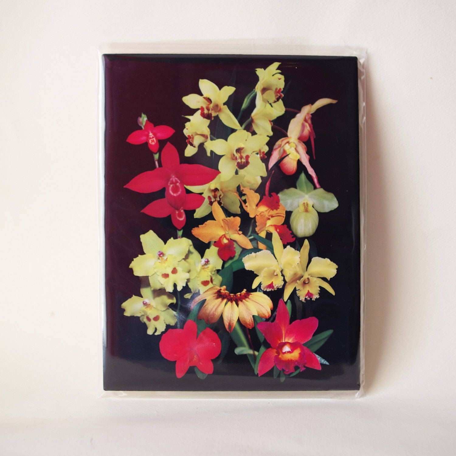 Orchid ceramic tile home decor kitchen decor housewarming t