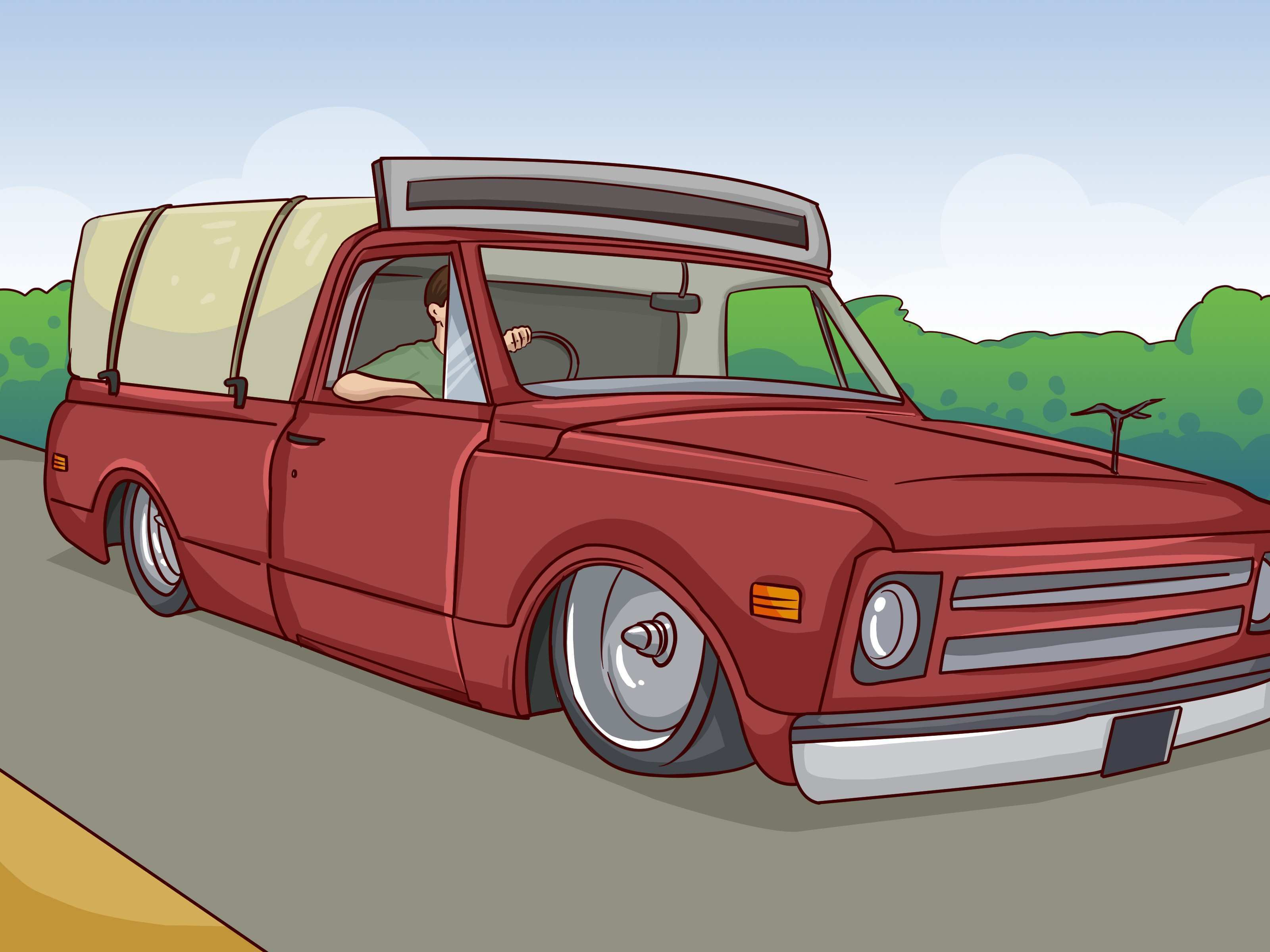 3 Ways to Body Drop or Channel a Truck wikiHow