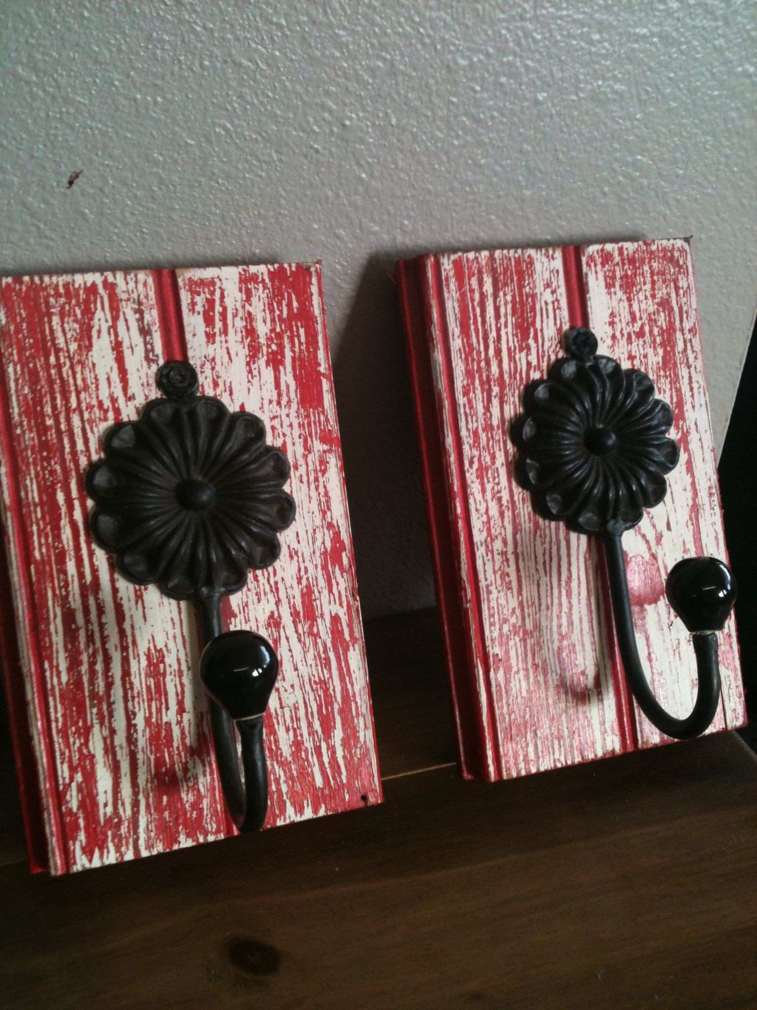 More cute wall art just made them today Love the RED