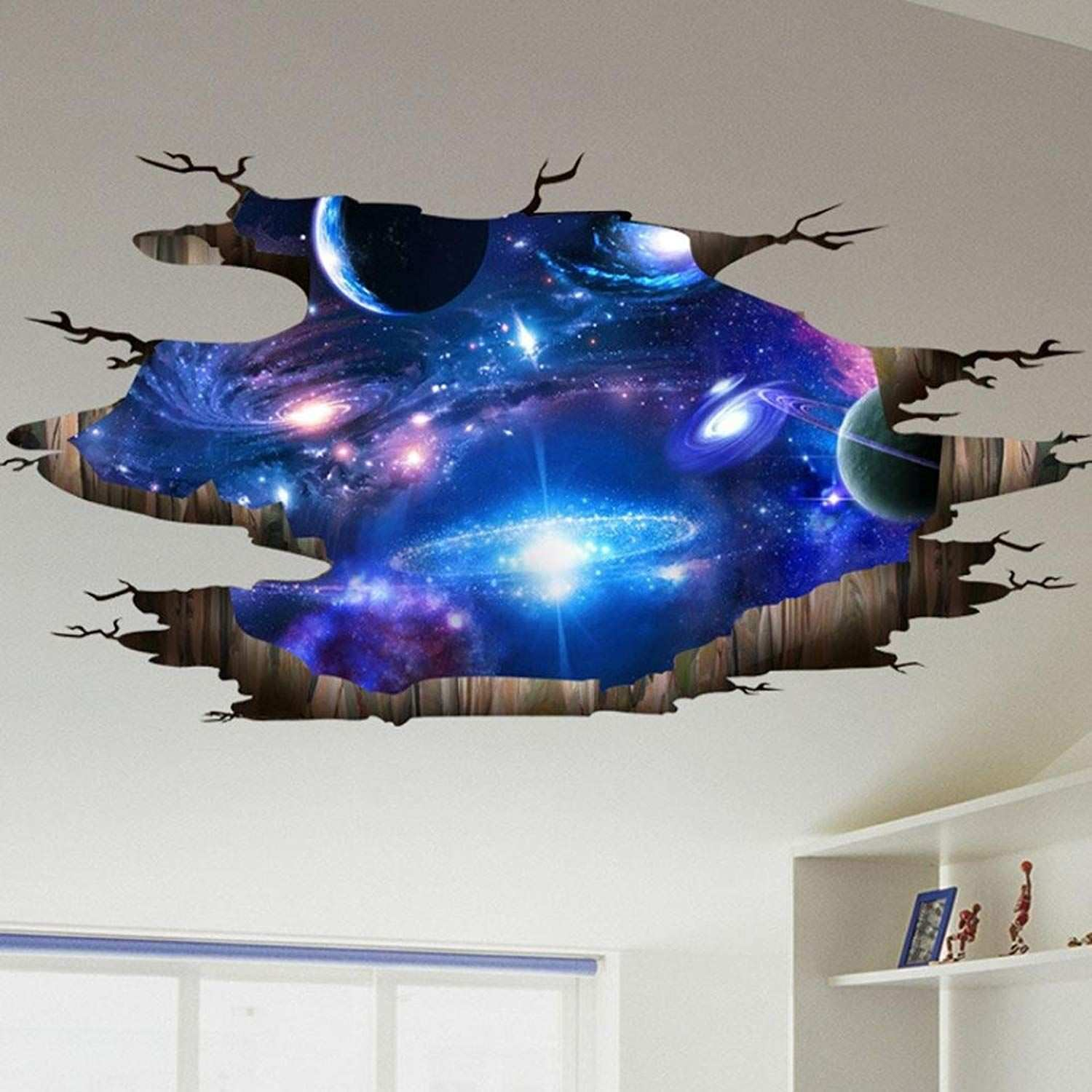 AmazonSmile Lowprofile 3D Bridge Floor Wall Sticker Removable Mural