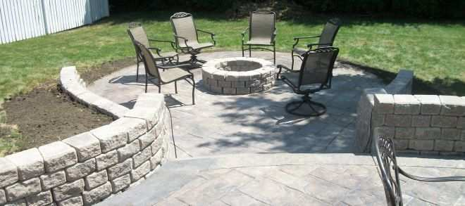 Retaining Wall On A Slope Pictures Fresh How To Build A Raised Patio  Concrete Concrete Slab Top