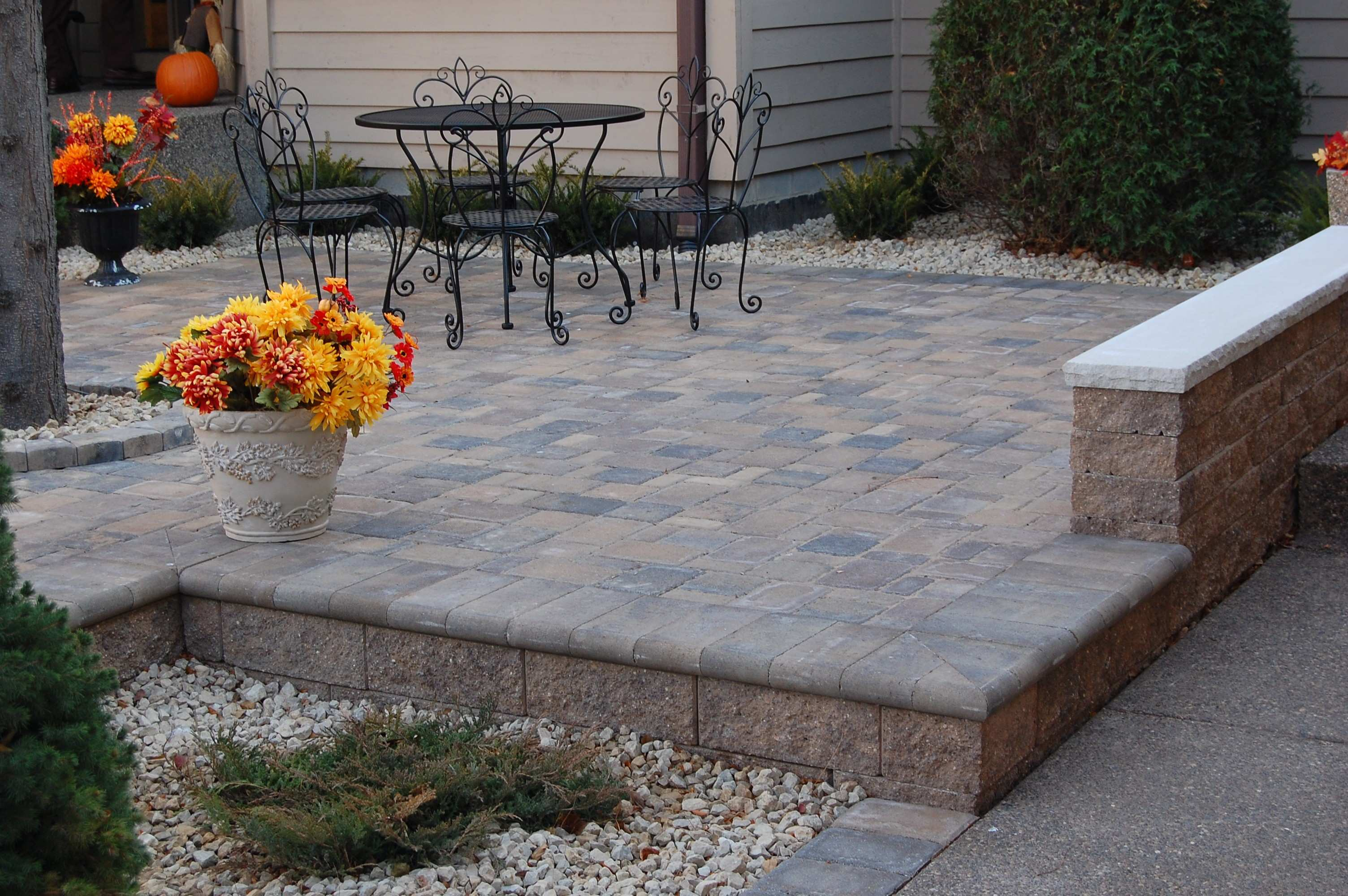 Patio Diy Paver Patio And Firepit Small Fire Pit L Ideas Sport
